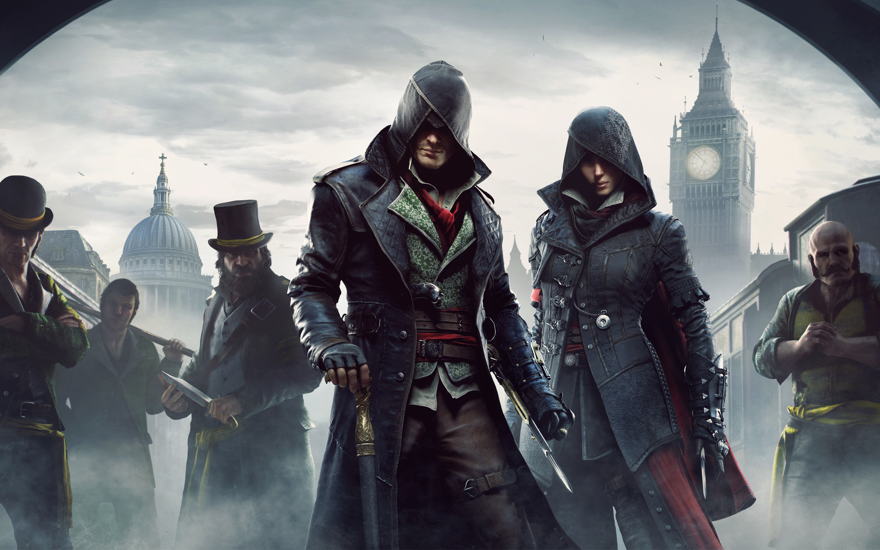 2880x1800 Assassin's Creed Syndicate 2015