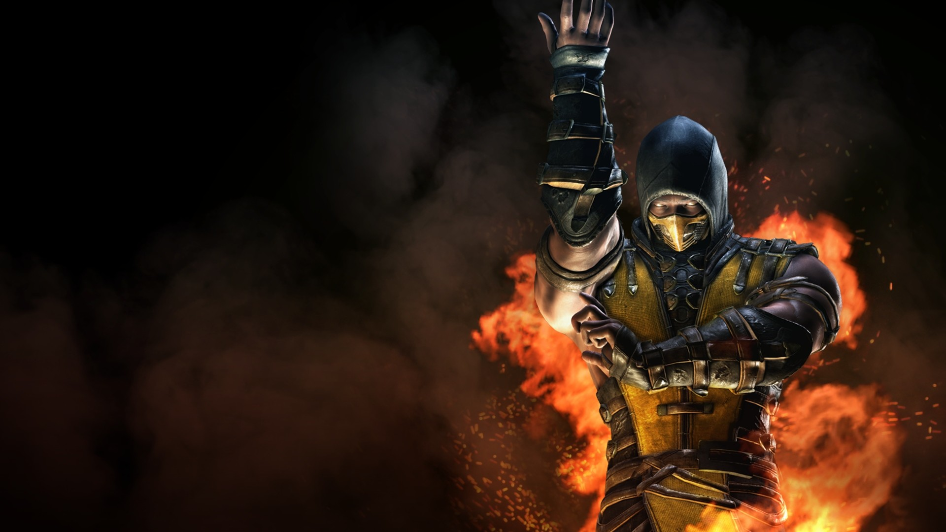 1920x1080 Scorpion Mortal Kombat X Characters Wallpapers HD