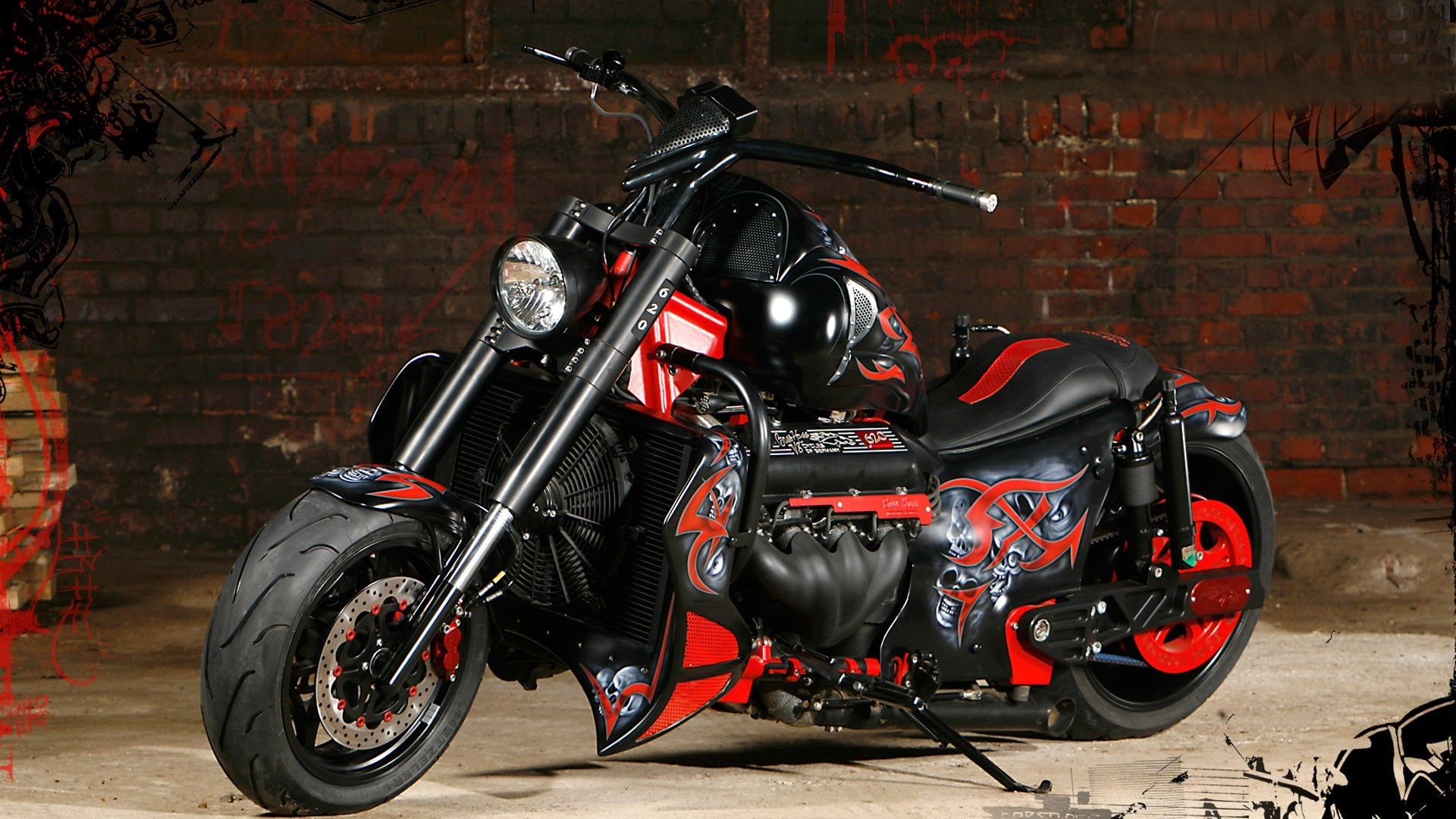 HD Harley Davidson Wallpapers (77+ images)