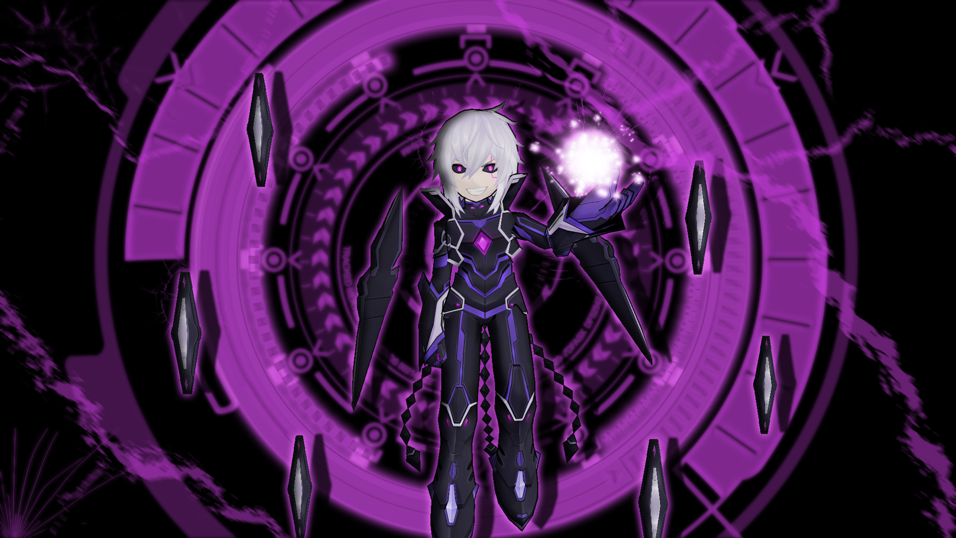 1920x1080 ... Elsword: Add diabolic Esper model wallpaper by DiabolicTurkey