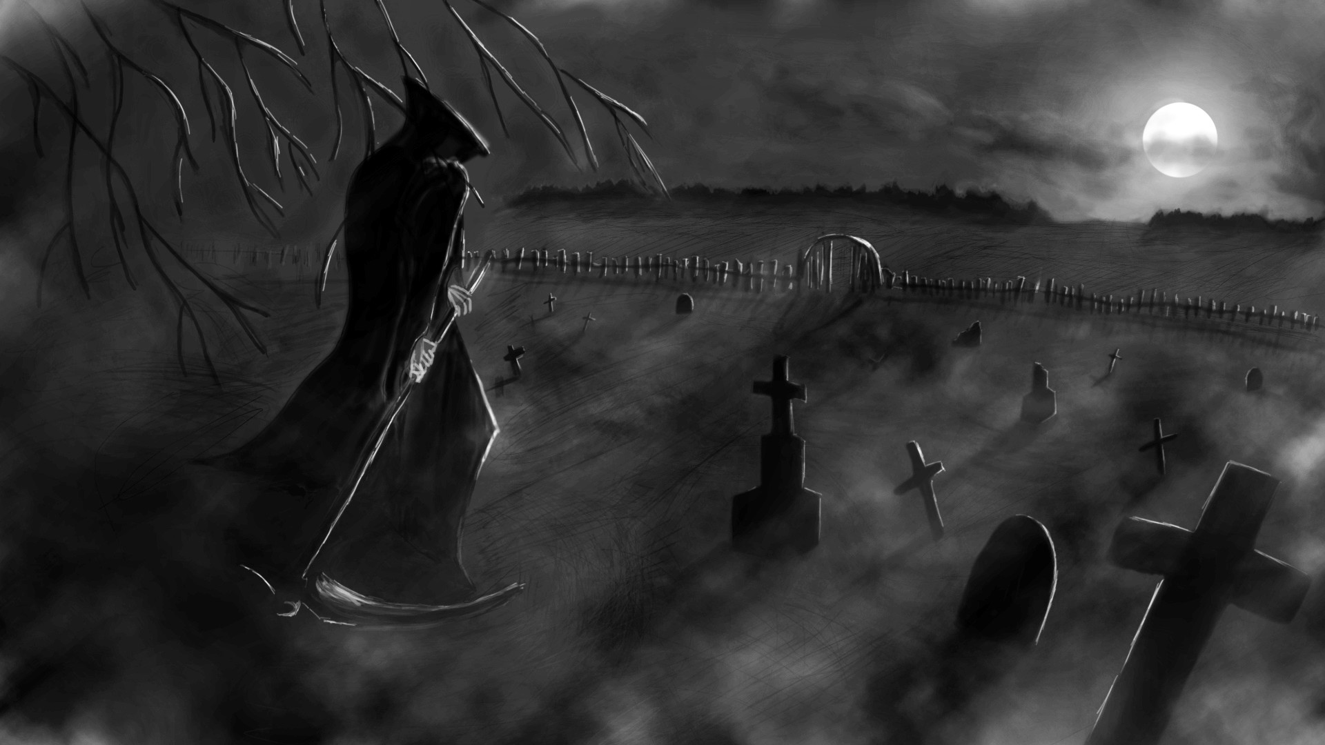Grim Reaper Backgrounds (68+ images)