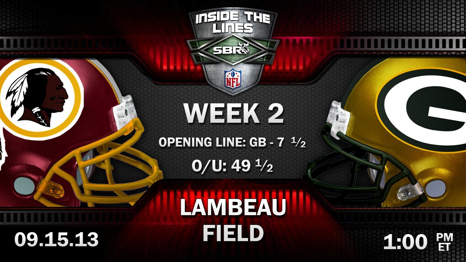 1920x1080 Washington Redskins vs Green Bay Packers NFL Week 2 Preview | 2013 NFL  Picks w/ Tony George, Loshak