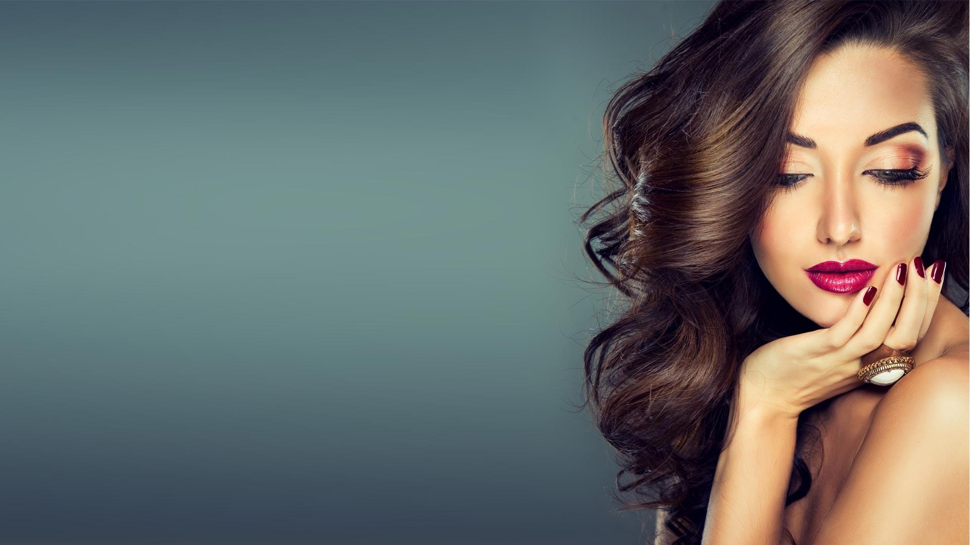 Custom 3D Beauty Salons Wallpaper Europe and the United ...  |Beauty Salon Wallpaper Designs