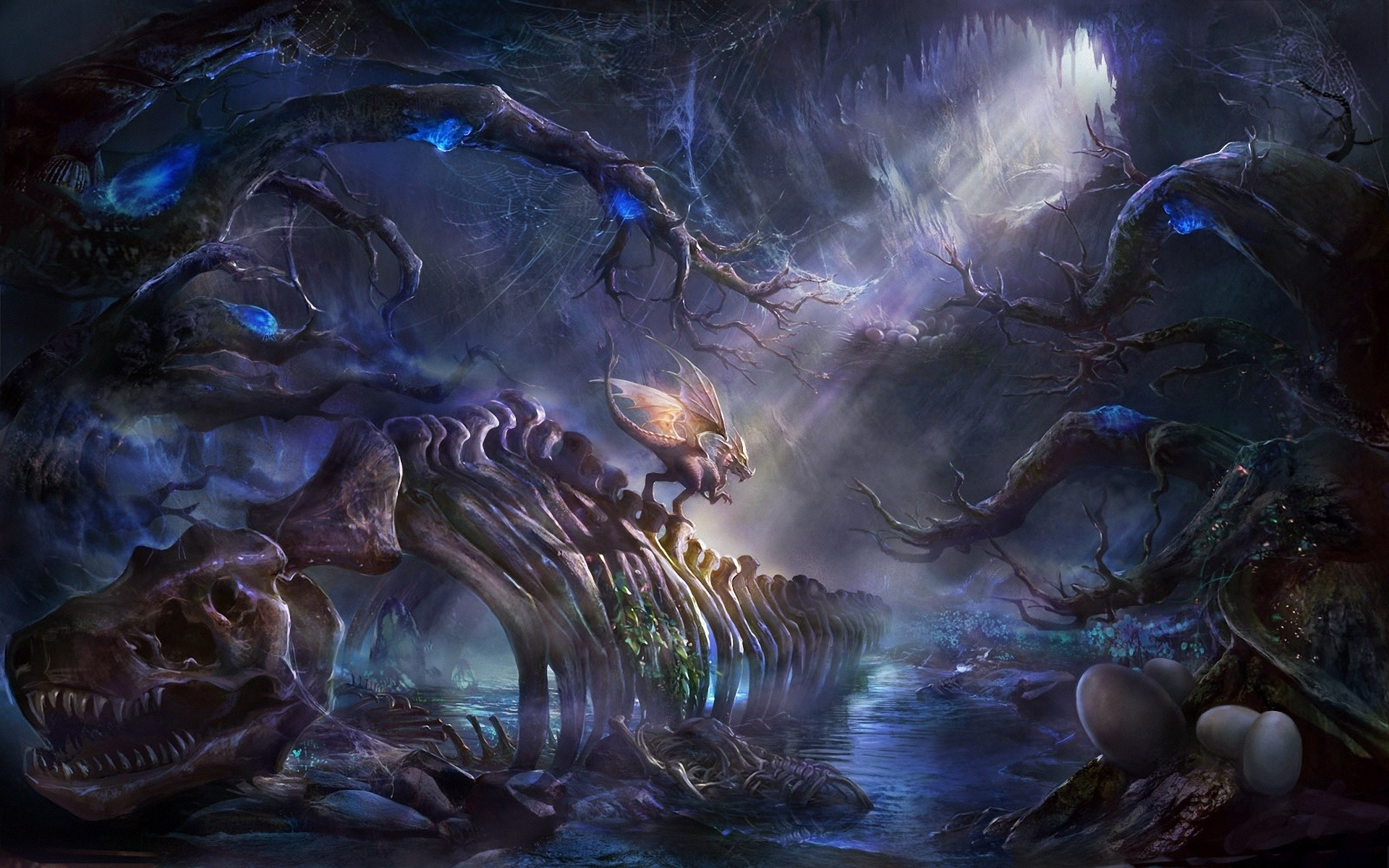 Anime Inspired Hd Fantasy Wallpapers For Your Collection: Anime Dragon Wallpaper (67+ Images