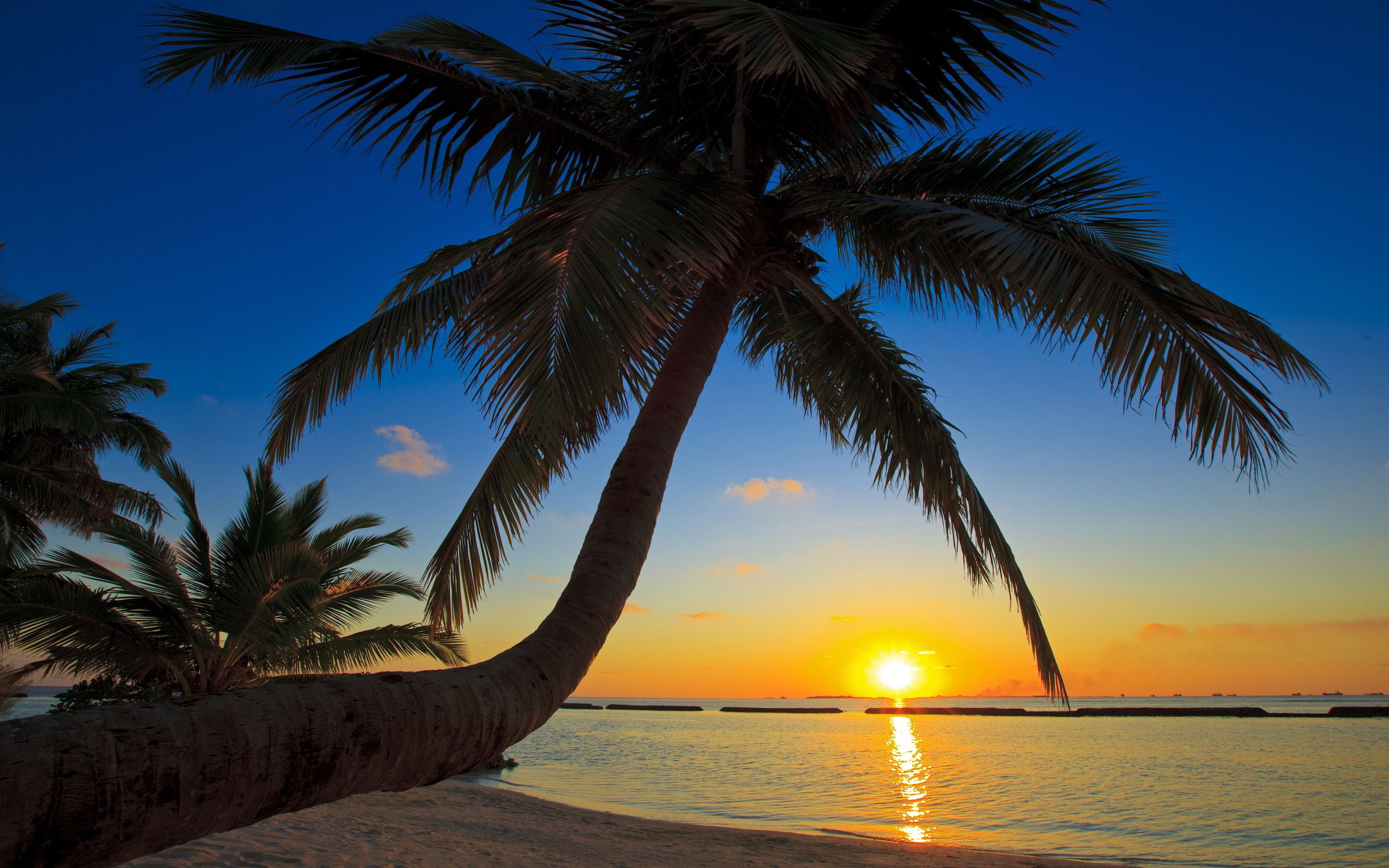2880x1800 Sunset Beach Wallpaper 2880×1800 - High Definition Wallpaper | Daily  Screens id-7702