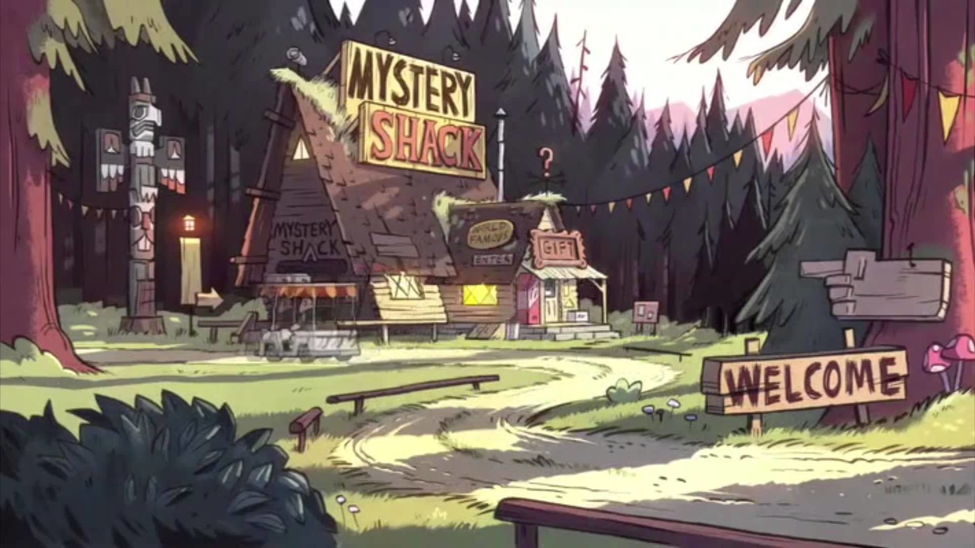 1920x1080 TV Show - Gravity Falls Wallpaper