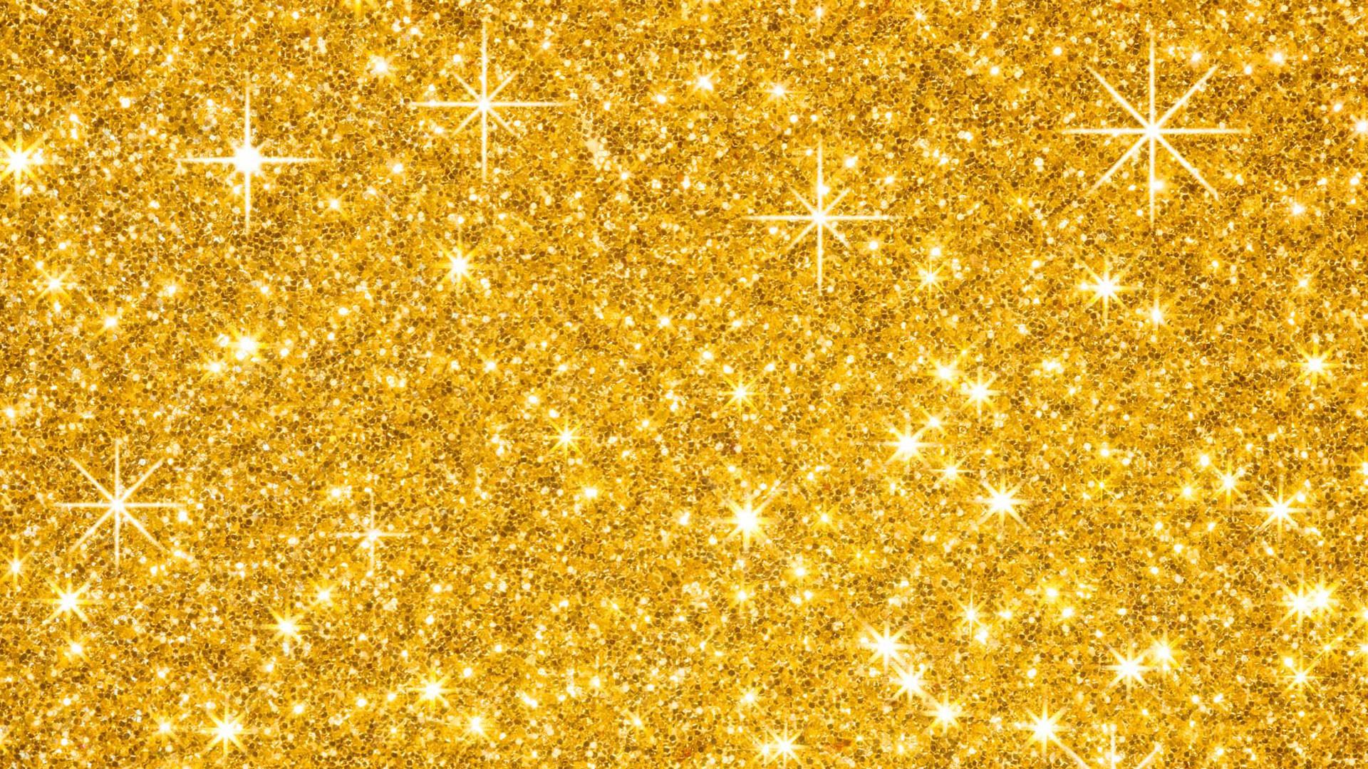 1920x1080 Gold Glitter Background