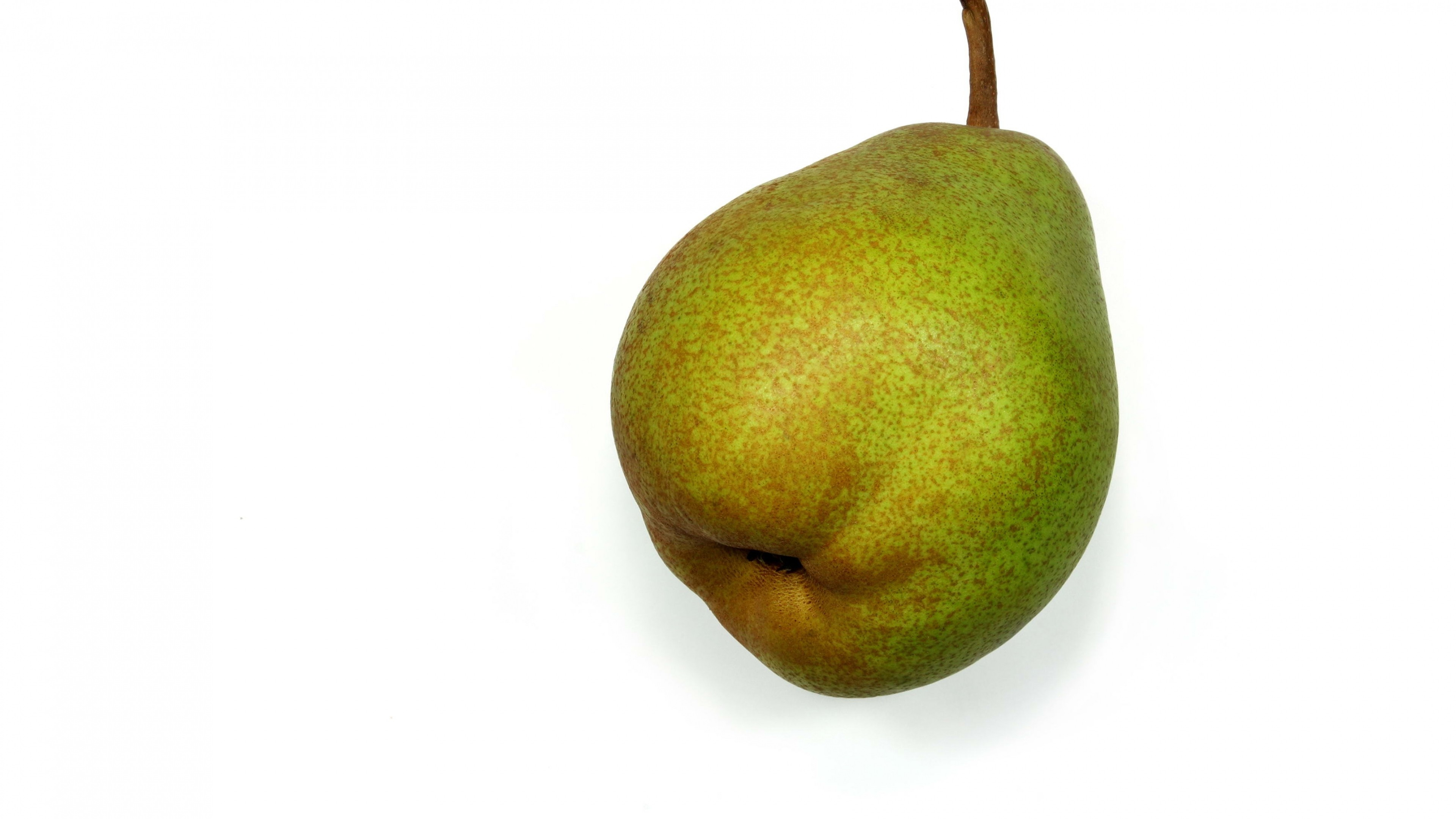 3840x2160  Wallpaper pear, stains, fruit
