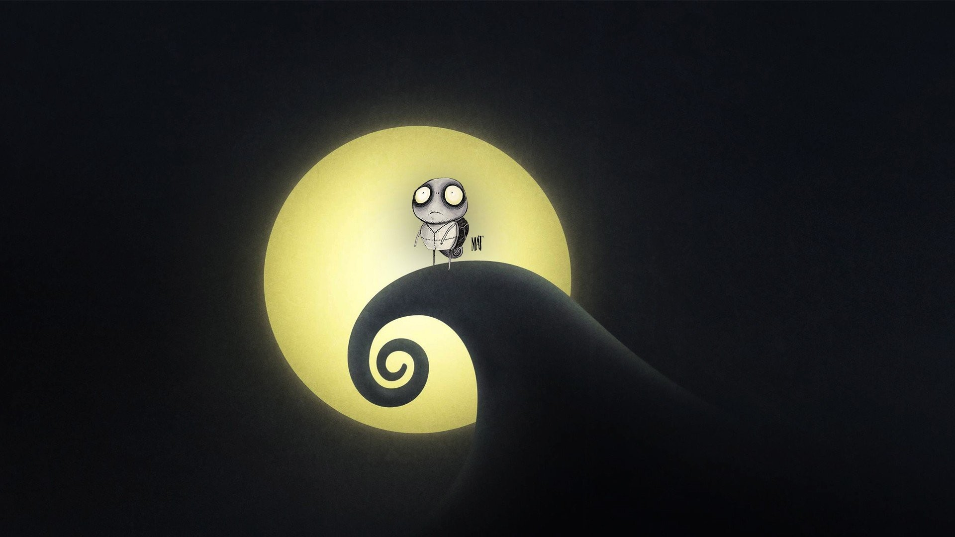 1920x1080 Tim Burton, Nightmare, Shadow, Lights Wallpapers HD / Desktop and Mobile  Backgrounds