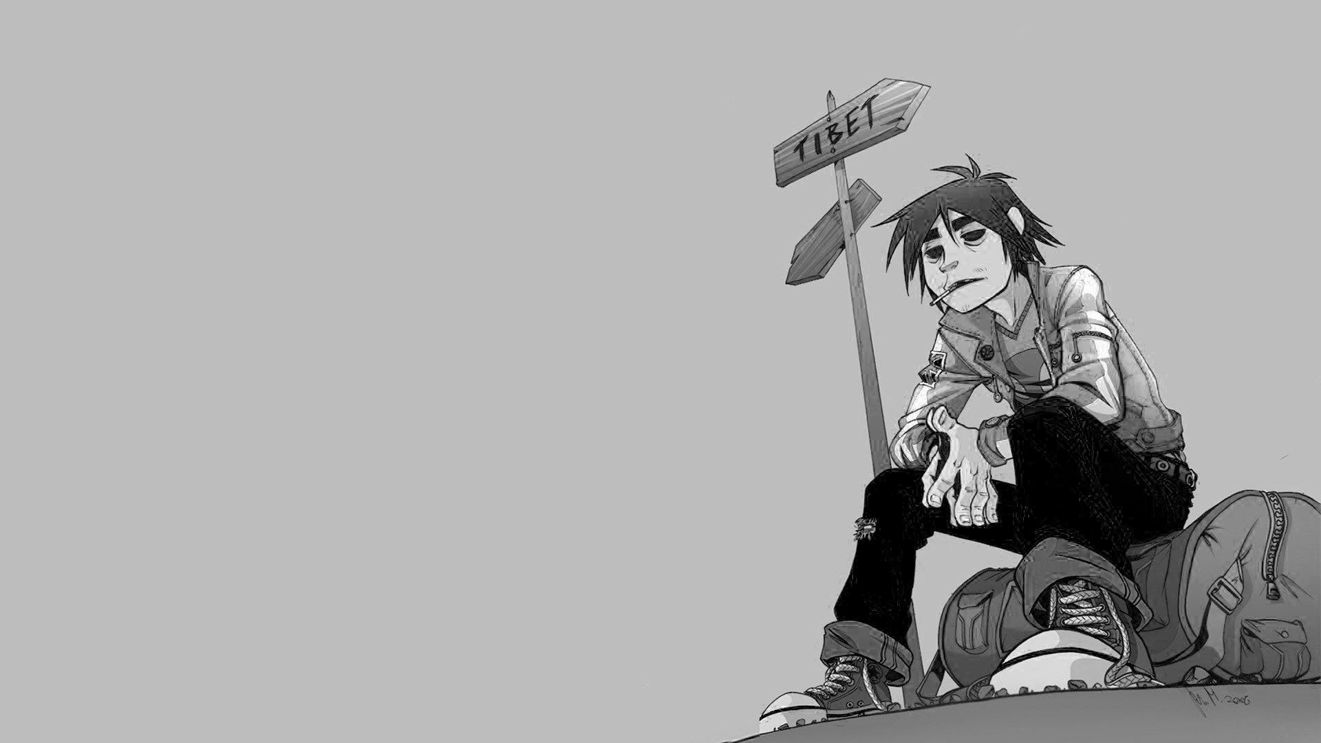 1920x1080 Download Gorillaz 2d Wallpaper ...