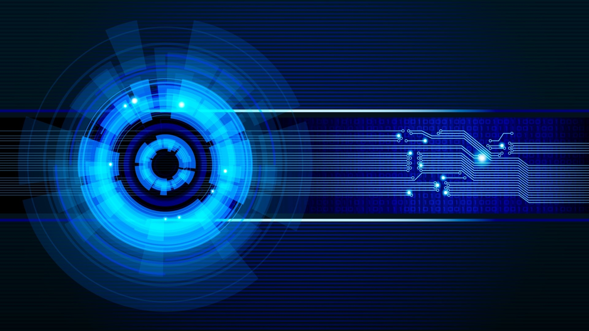 1920x1080 Preview wallpaper neon, light, circles
