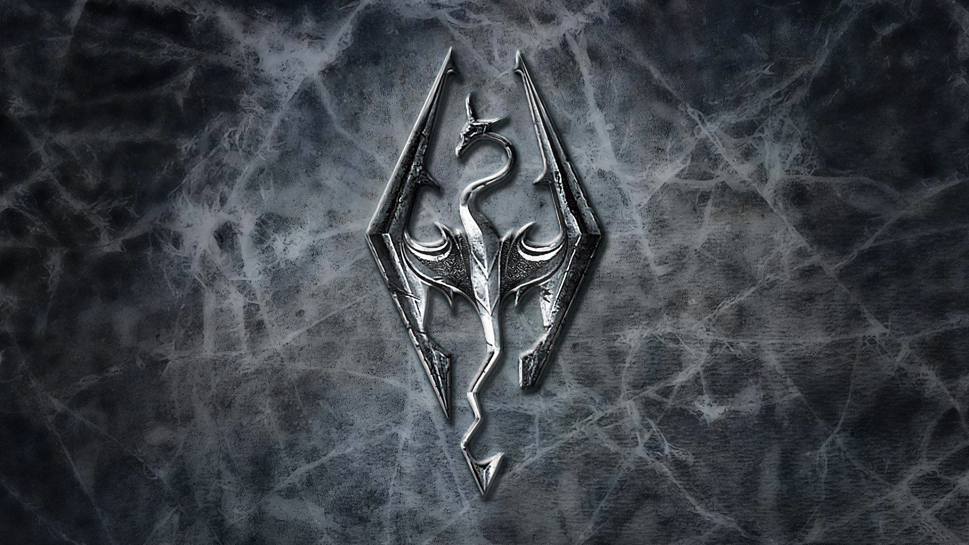 1920x1080 Skyrim-Logo-Wallpaper