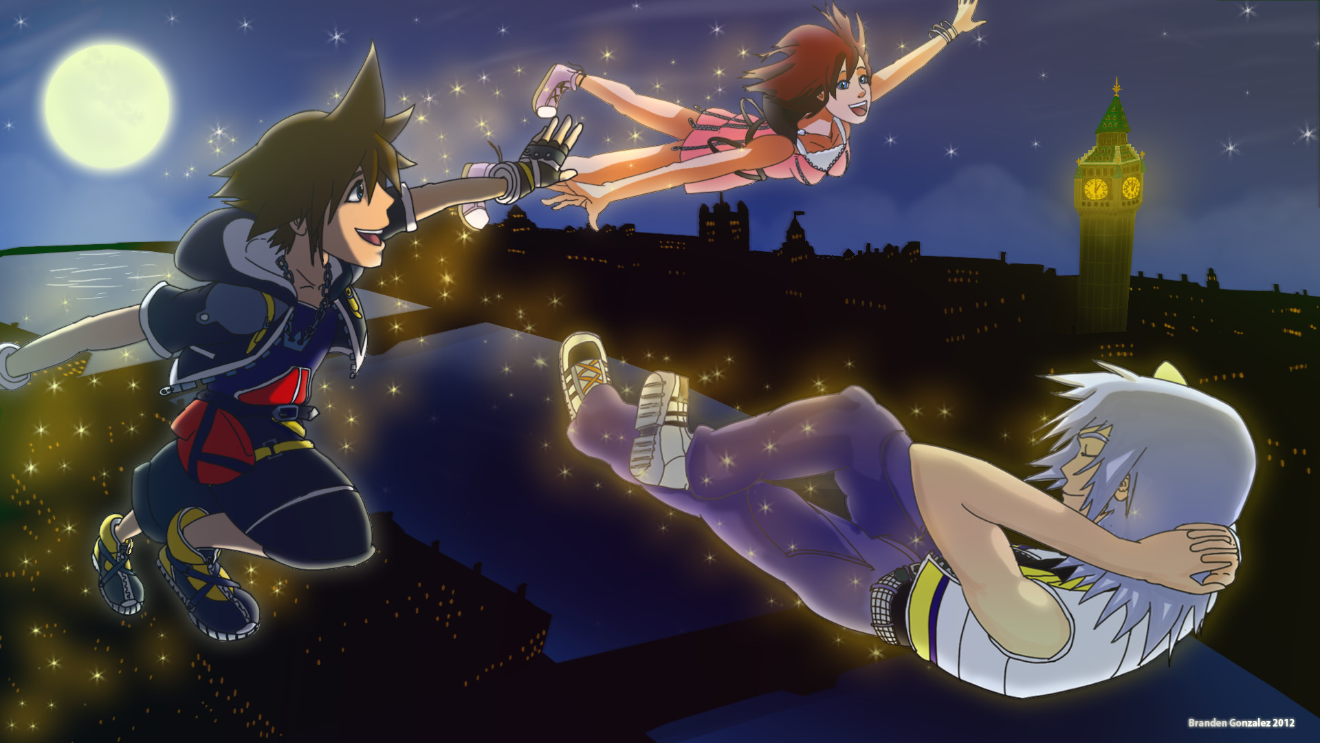 1920x1080 Kingdom Hearts Computer Wallpapers, Desktop Backgrounds |  .