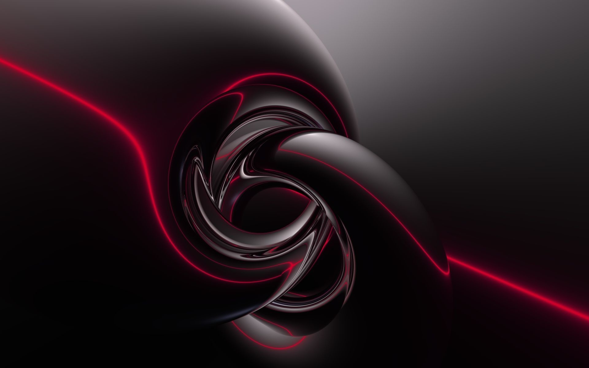 1920x1200 Black Red Abstract Wallpaper - ImgMob