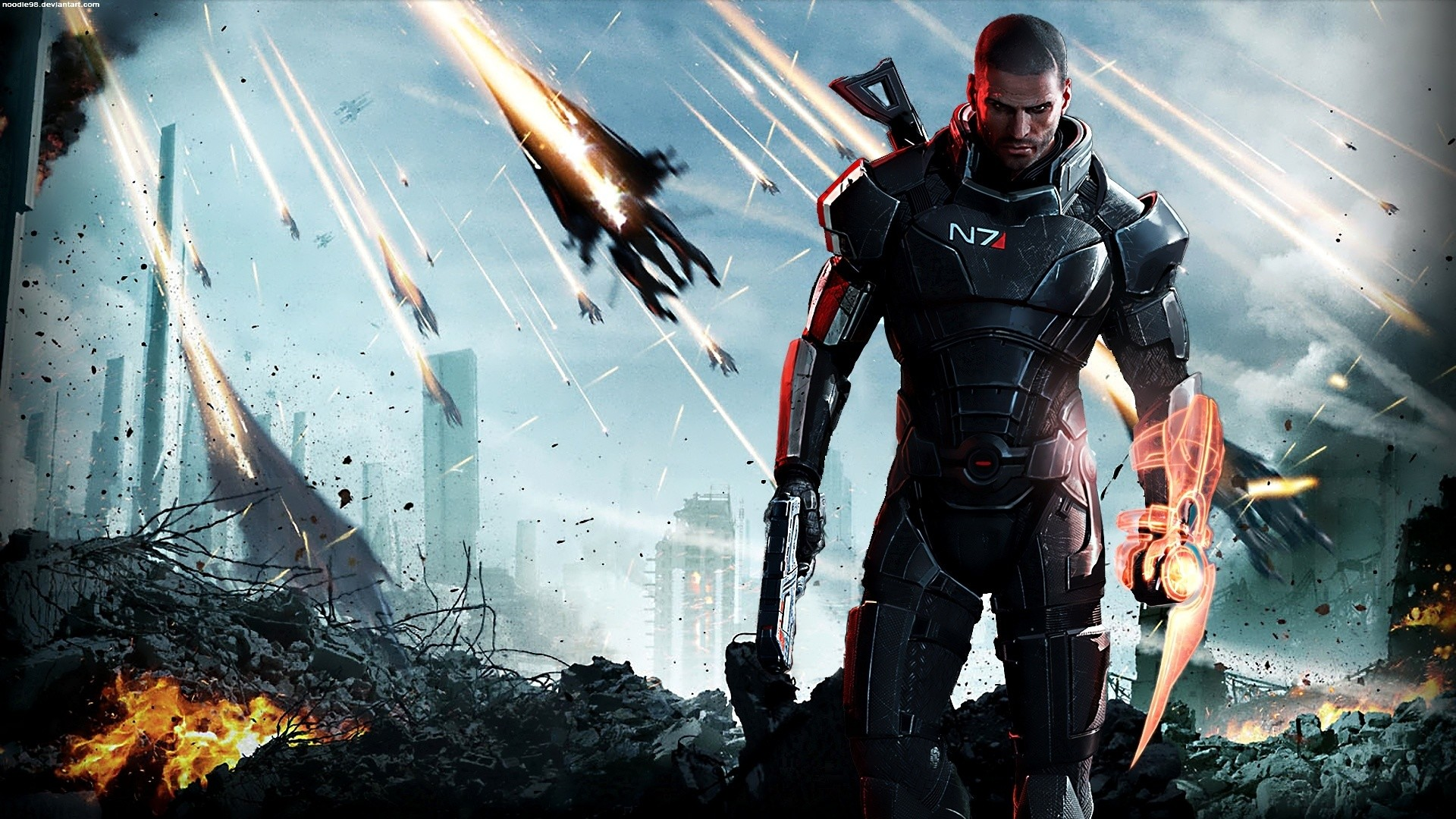 Mass Effect 3 Desktop Background 82 Images