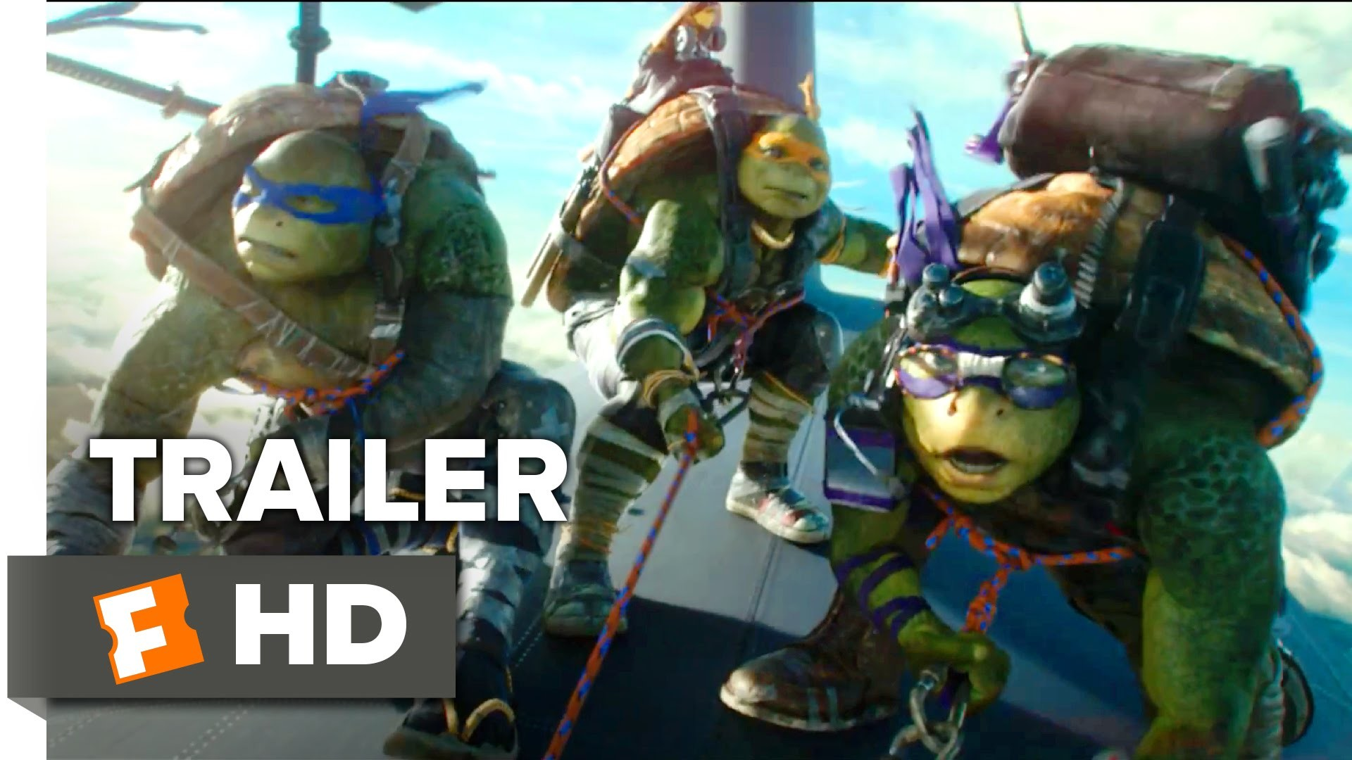 1920x1080 Teenage Mutant Ninja Turtles: Out of the Shadows Official Trailer #4 (2016)  - Movie HD - YouTube