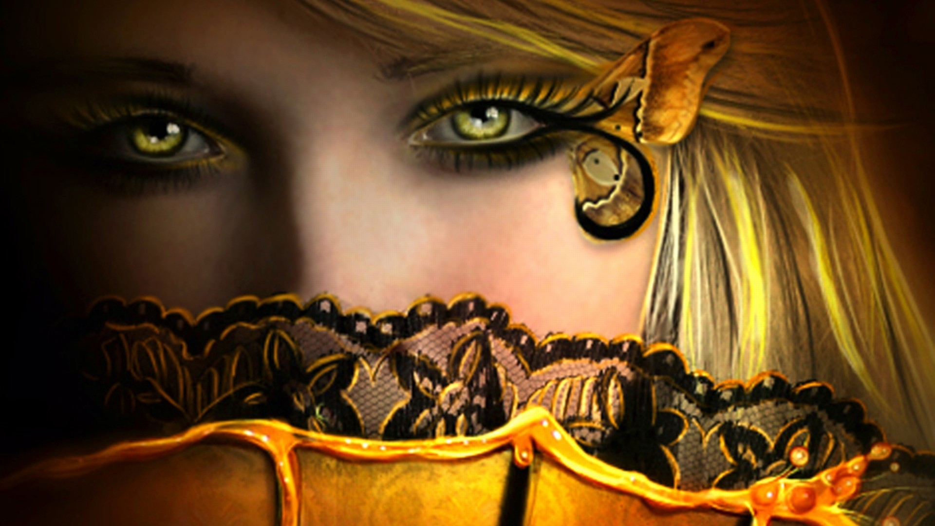 1920x1080  Explore Amazing Eyes, Beautiful Eyes, and more! fairy fantasy art  | Wallpapers .