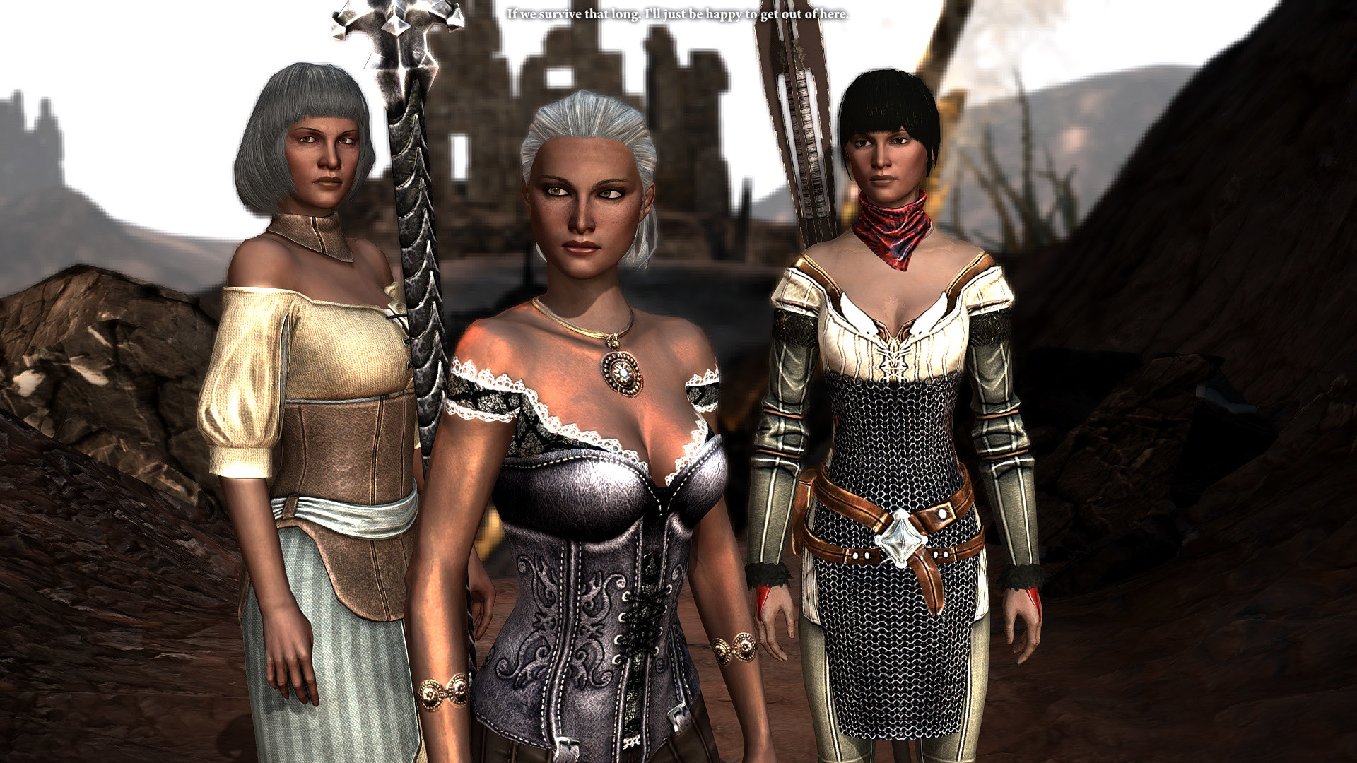 1920x1080 The women of the Hawke family Leandra, Cassia and Bethany