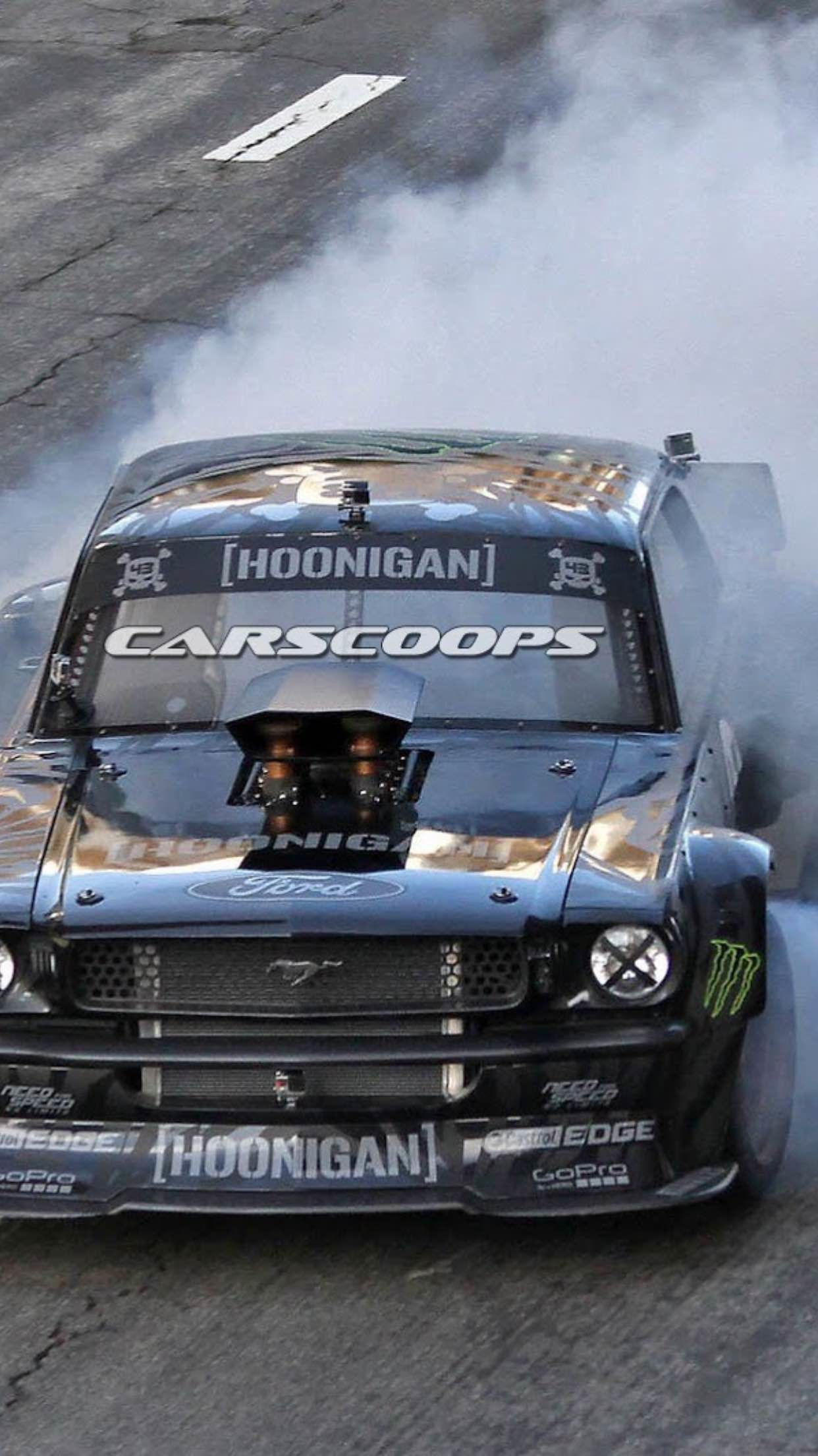 Hoonigan Mustang Iphone Wallpaper