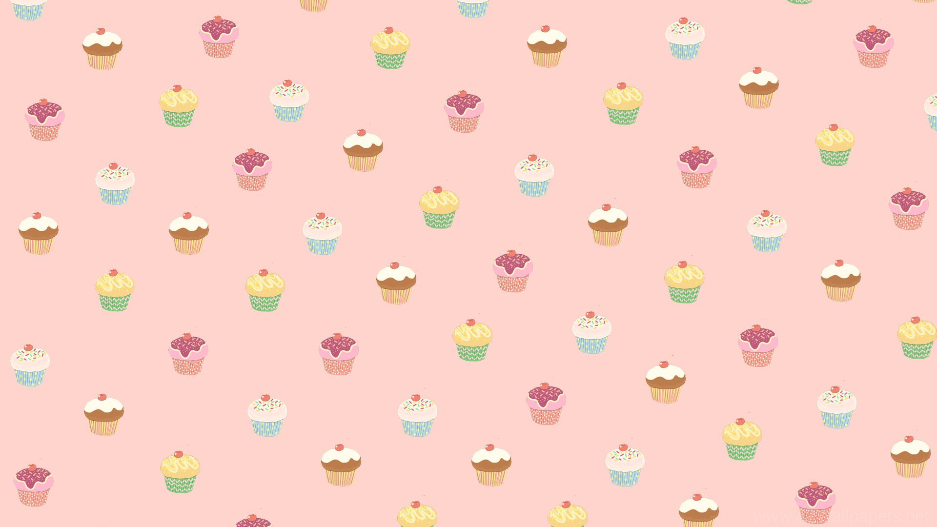 1920x1080 Cute Cupcake Wallpapers â'