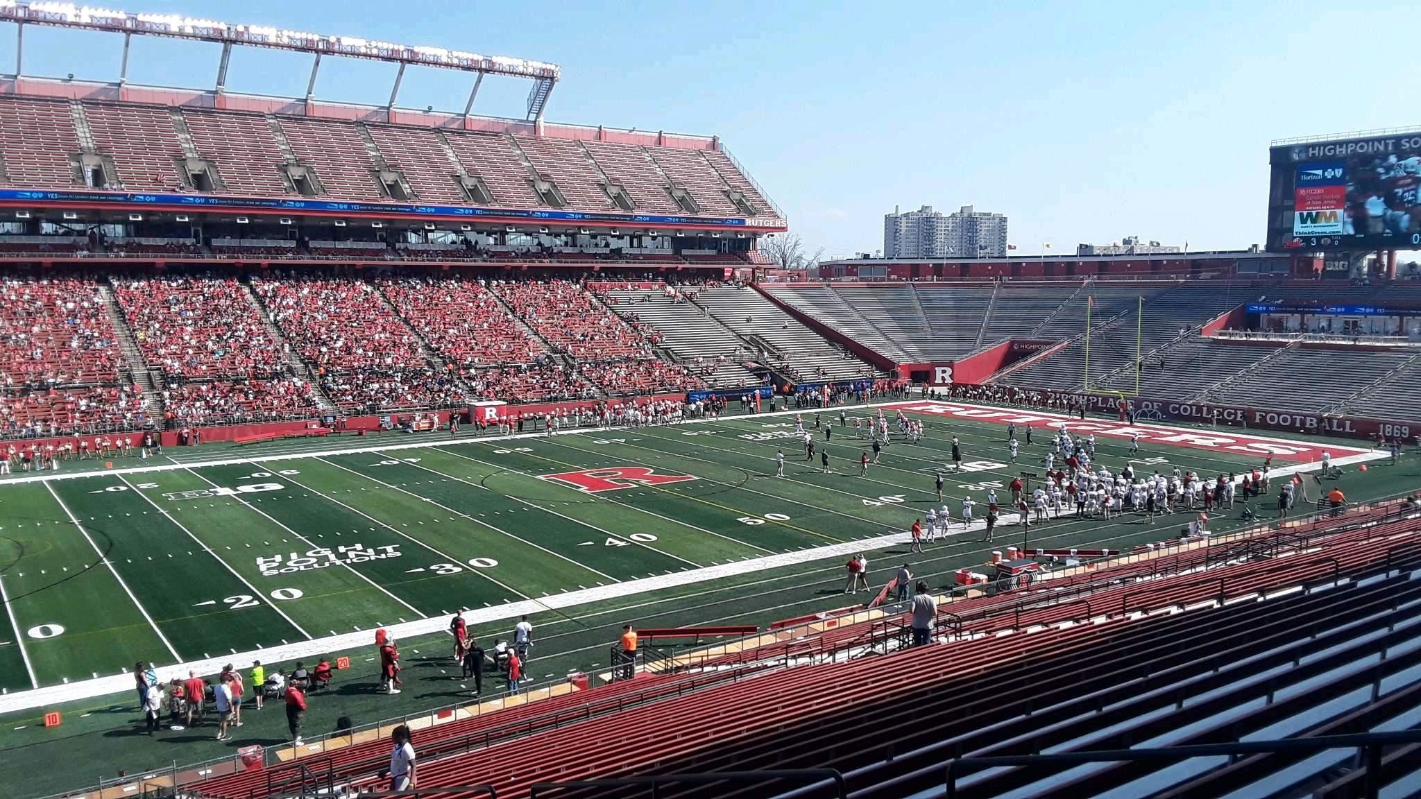 2048x1152 High Point Solutions Stadium, section 108, row 38, seat 14 - Rutgers  Scarlet Knights, shared by JesseD