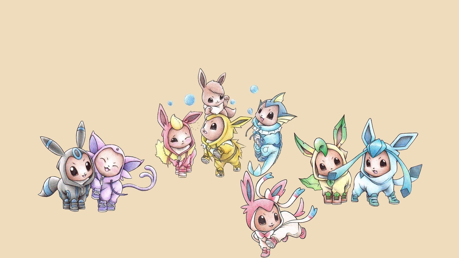 1920x1080 Pokemon Phone Eevee HD Images.