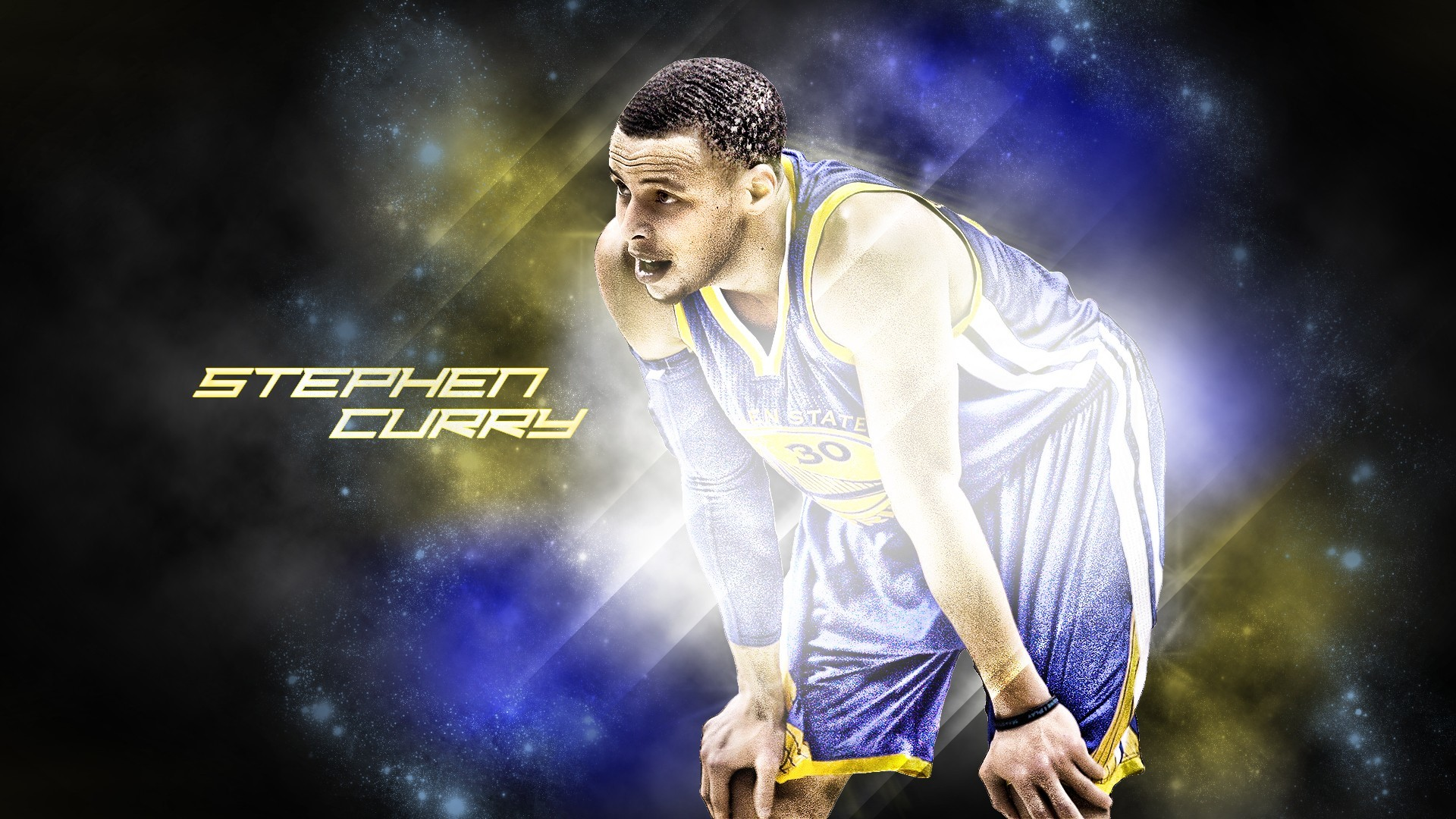 1920x1080 Stephen Curry Background Desktop | PixelsTalk.Net