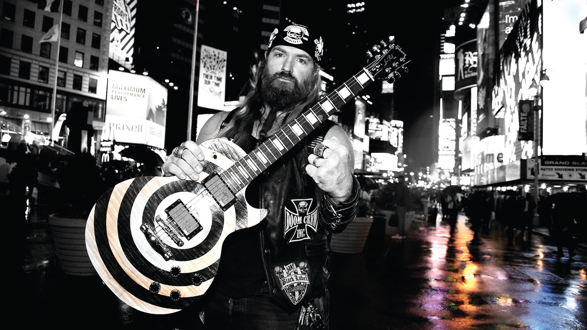 1920x1080 Music - Black Label Society Guitar Guitarist Heavy Metal Zakk Wylde  Wallpaper