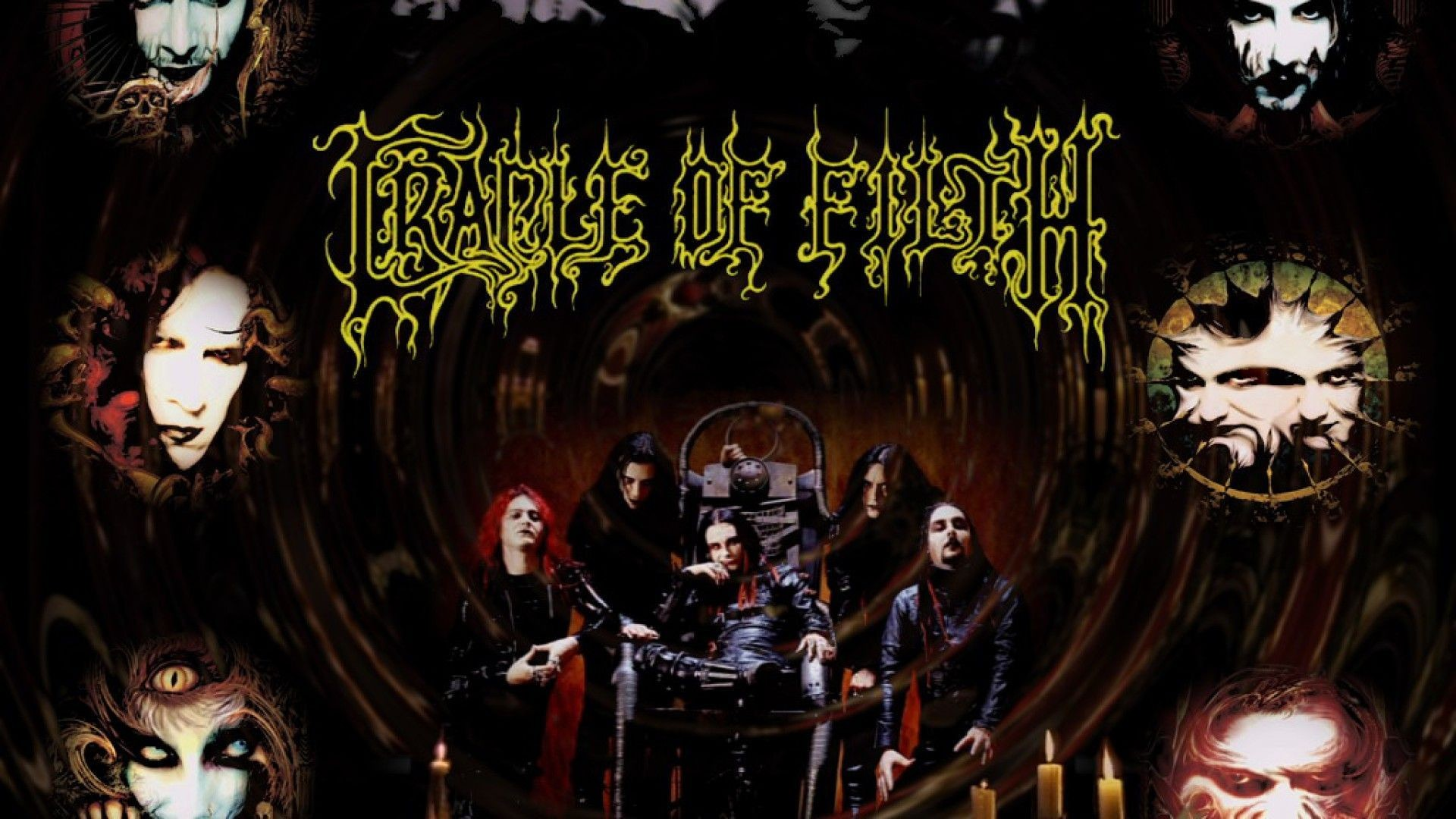1920x1080 Cradle Of Filth Wallpapers › High Resolution Wallpapers