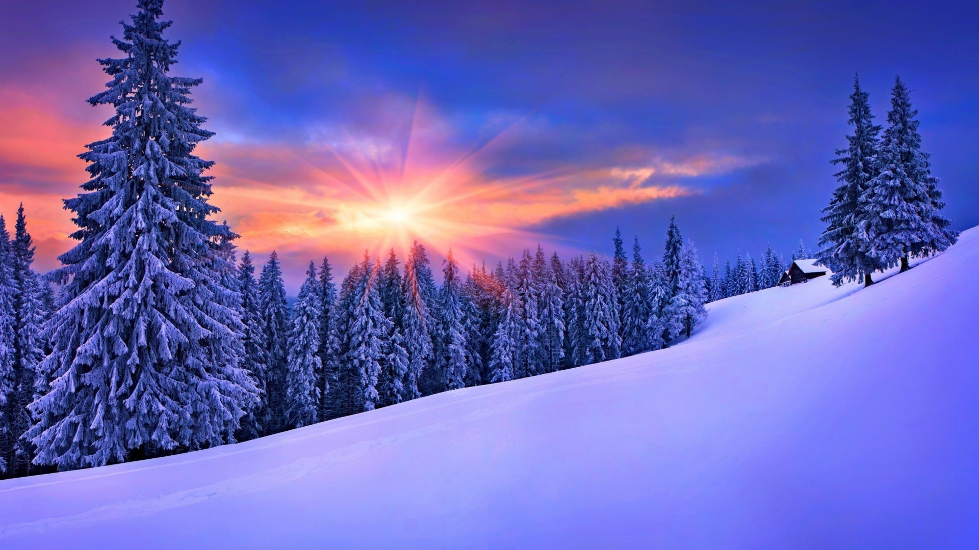 Desktop Wallpaper Winter Landscapes (46+ Images
