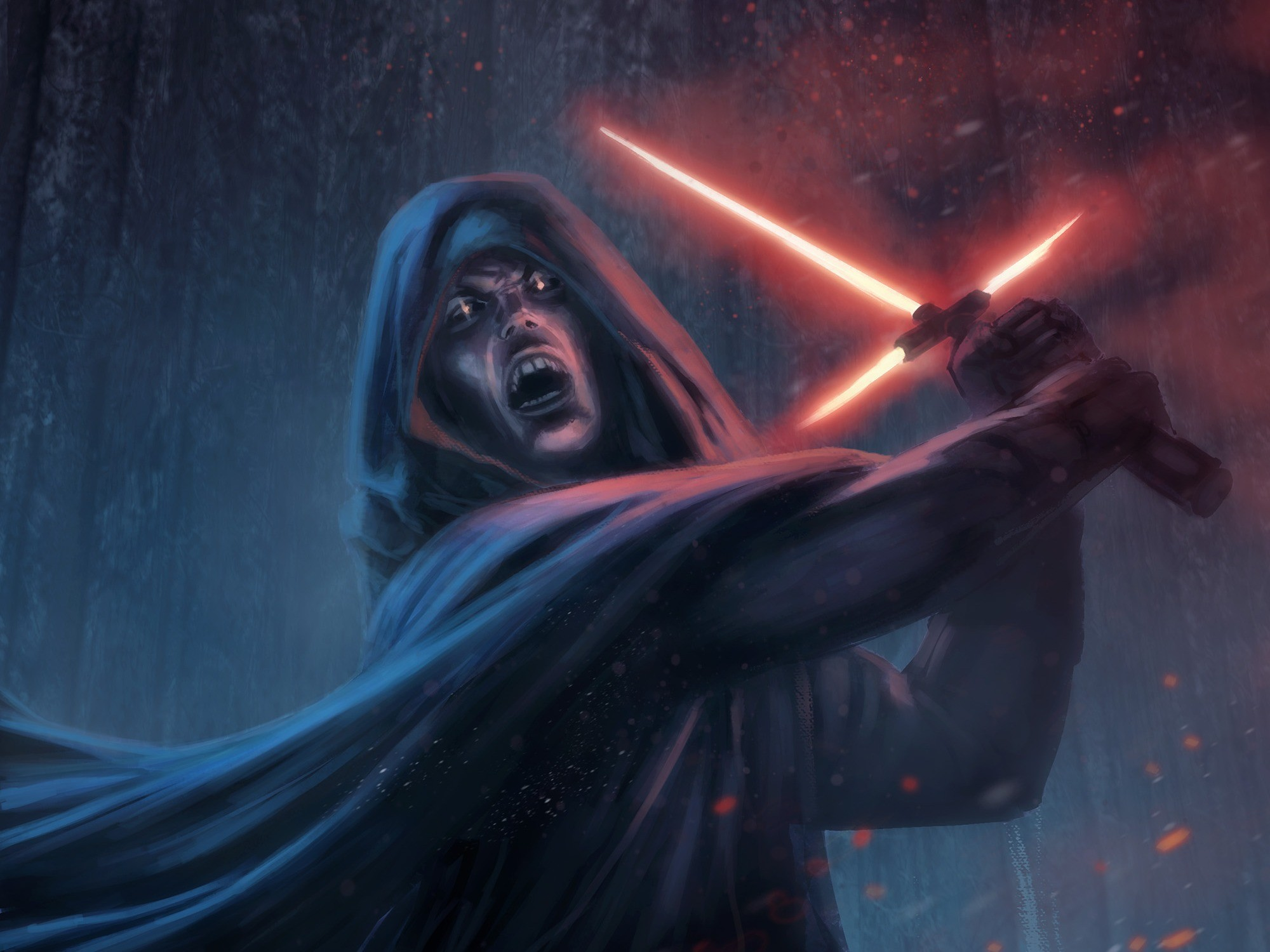 2000x1500  Wallpaper star wars episode vii - the force awakens, sith,  lightsaber