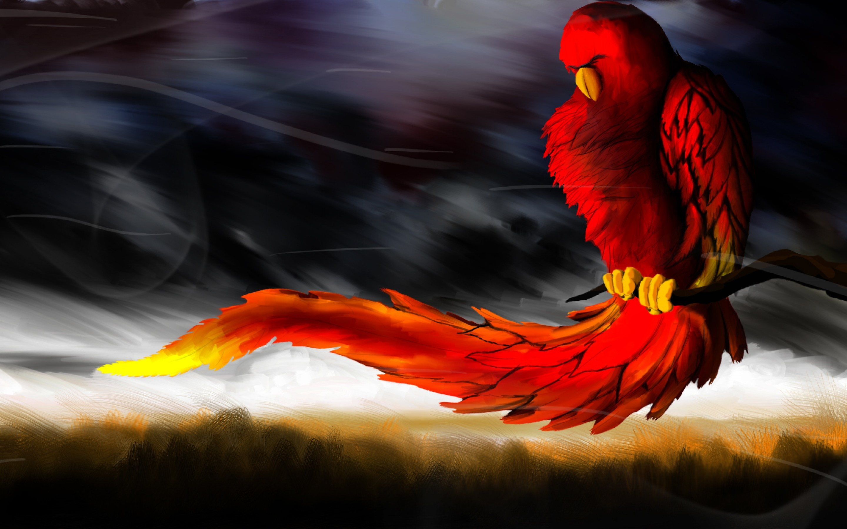 2880x1800 ... Phoenix Bird Wallpapers Free Download | PixelsTalk.