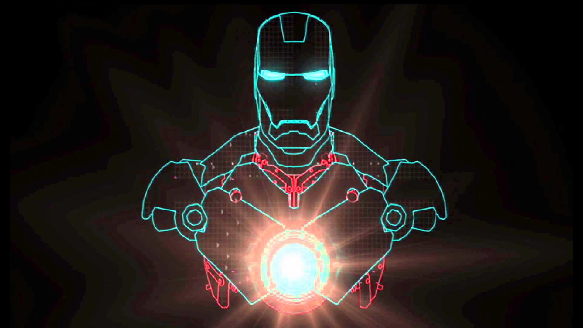Iron man arc reactor wallpaper iphone