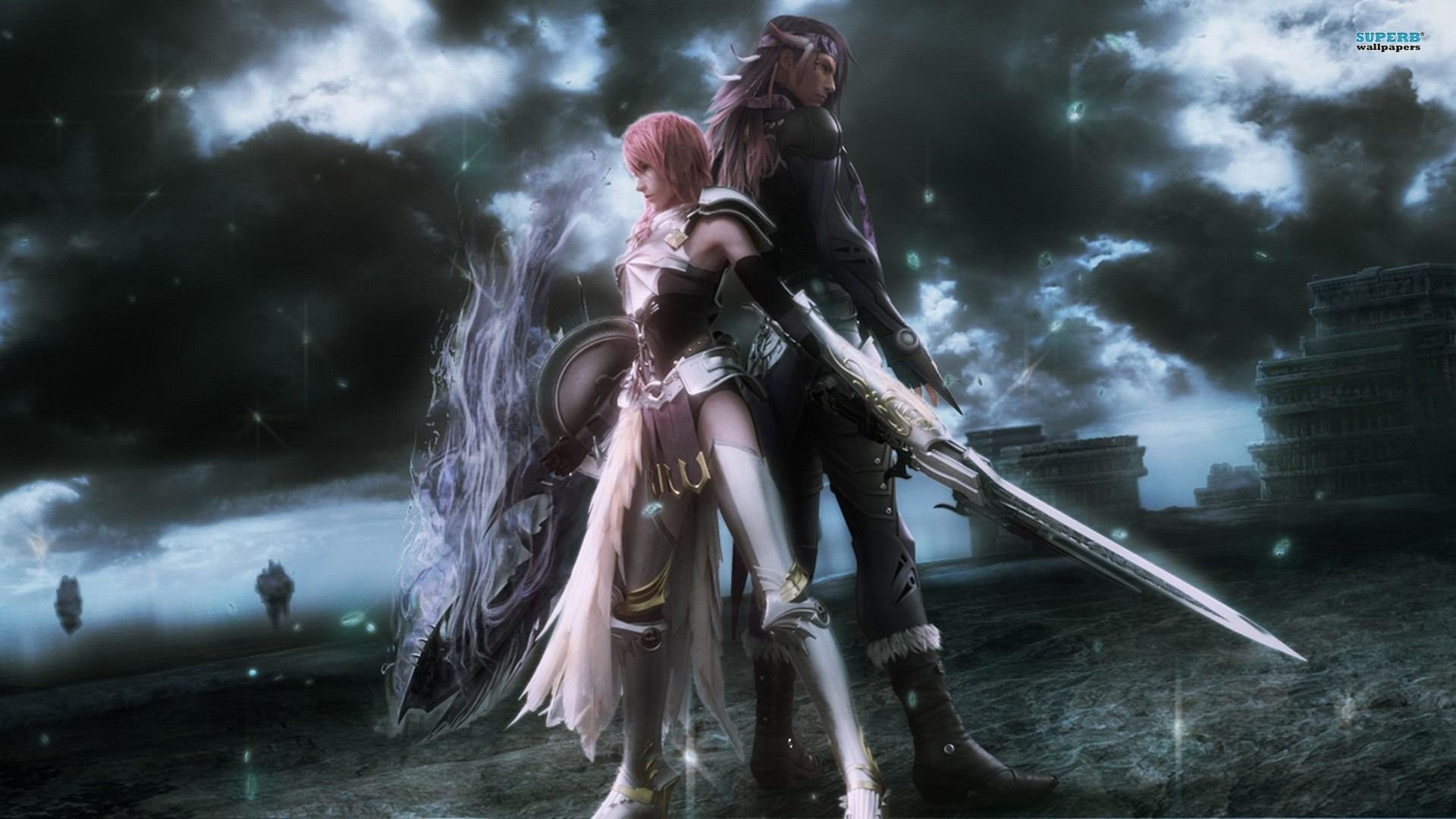 1920x1080 Lightning And Caius - Final Fantasy XIII-2 390997