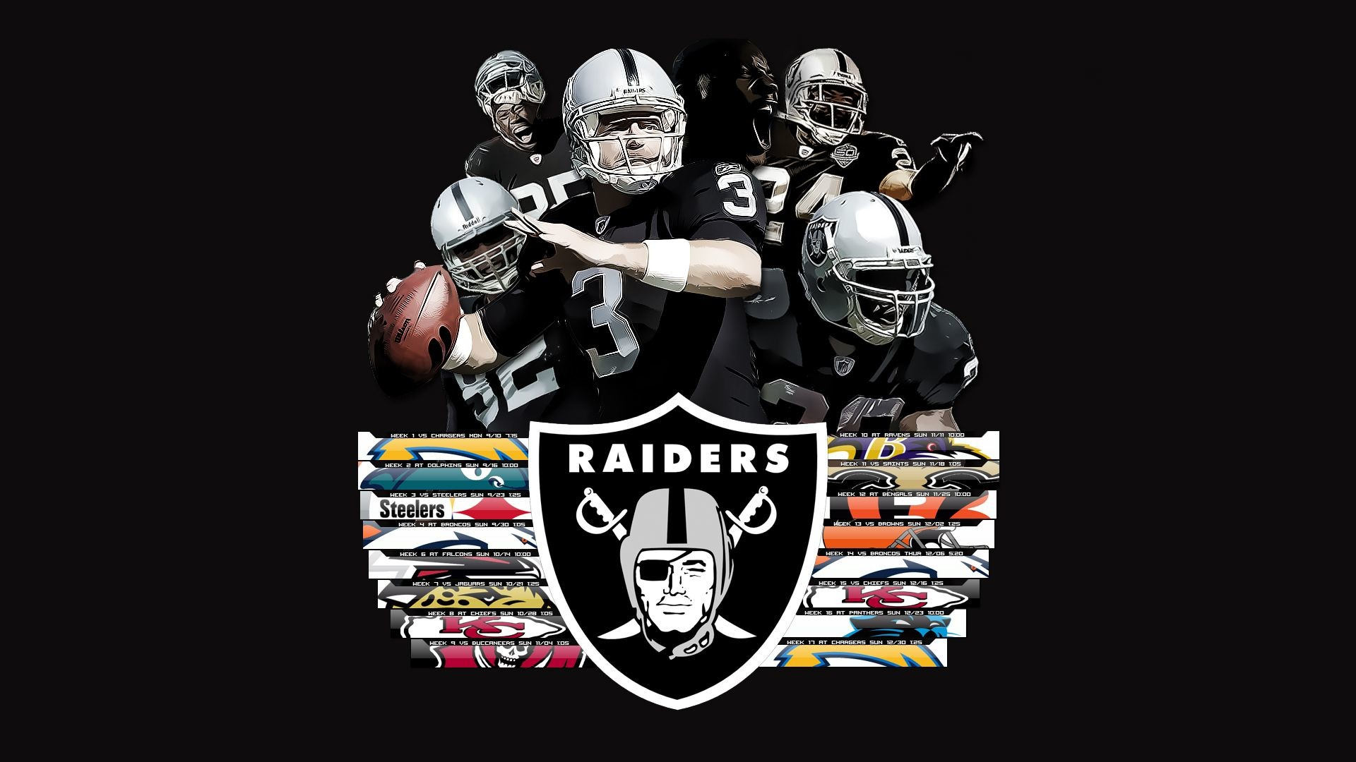 1440x2560 Preview Wallpaper Oakland Raiders Football Club Nfl Los Angeles