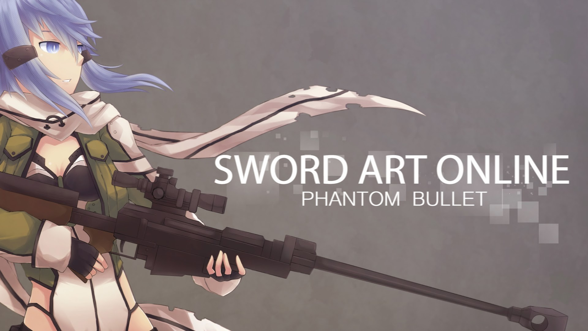 1920x1080 phantom bullet gun gale online anime 2014 SAO 2 GGO hd wallpaper .
