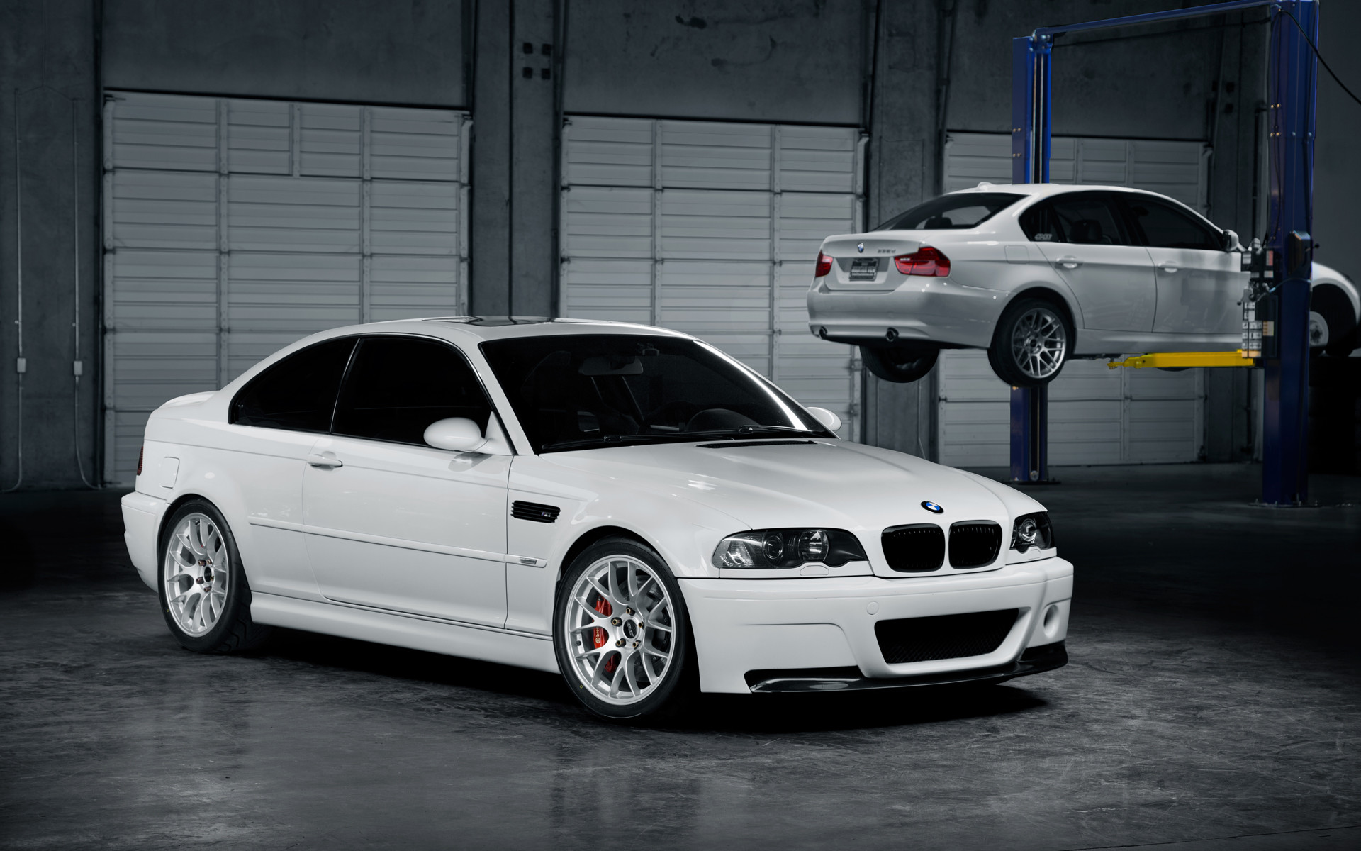Perfect 1920x1080 BMW M3 E46 Front Crystal City Car 2014
