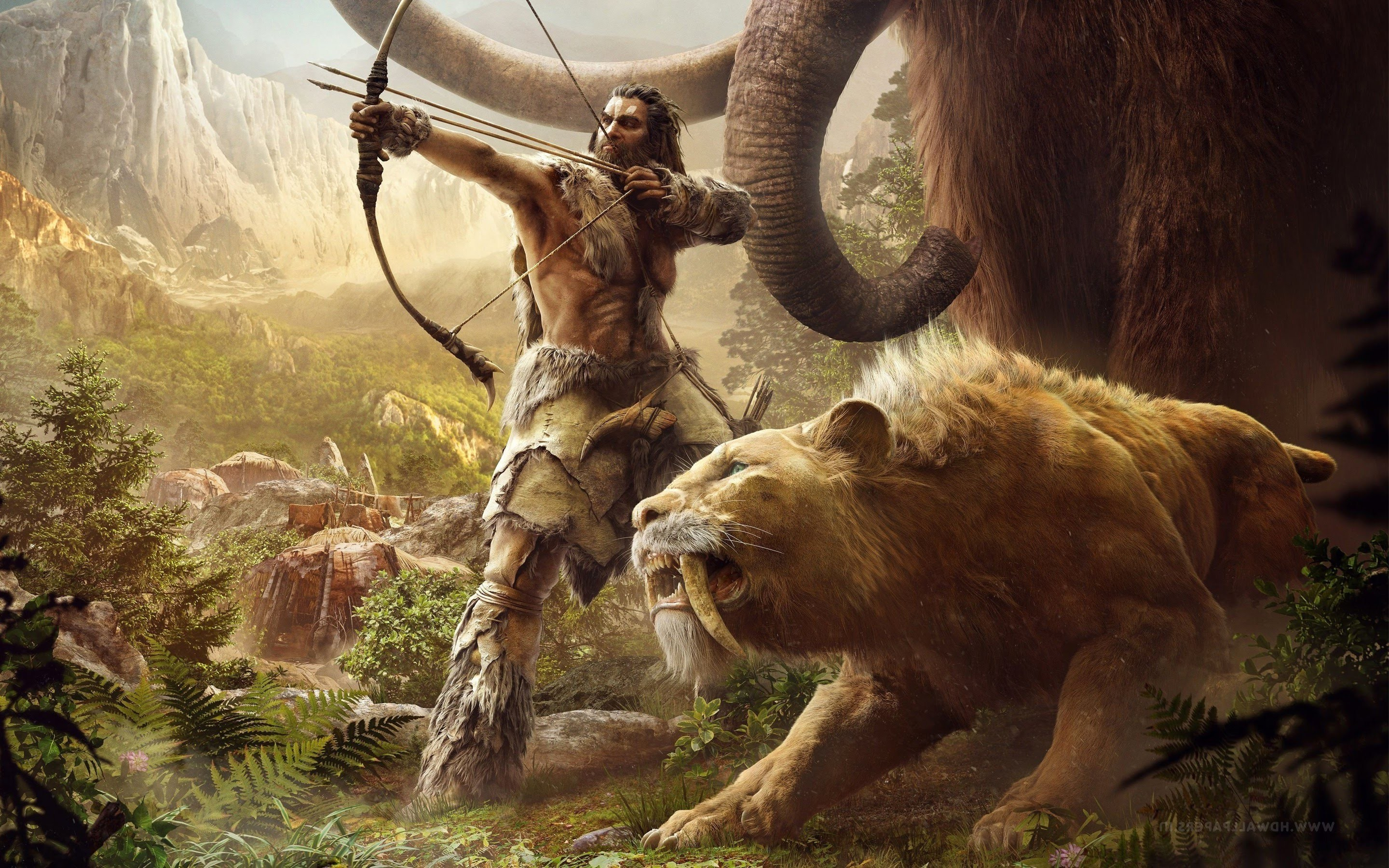 Far Cry Primal Wallpaper: Sabertooth Wallpapers (67+ Images