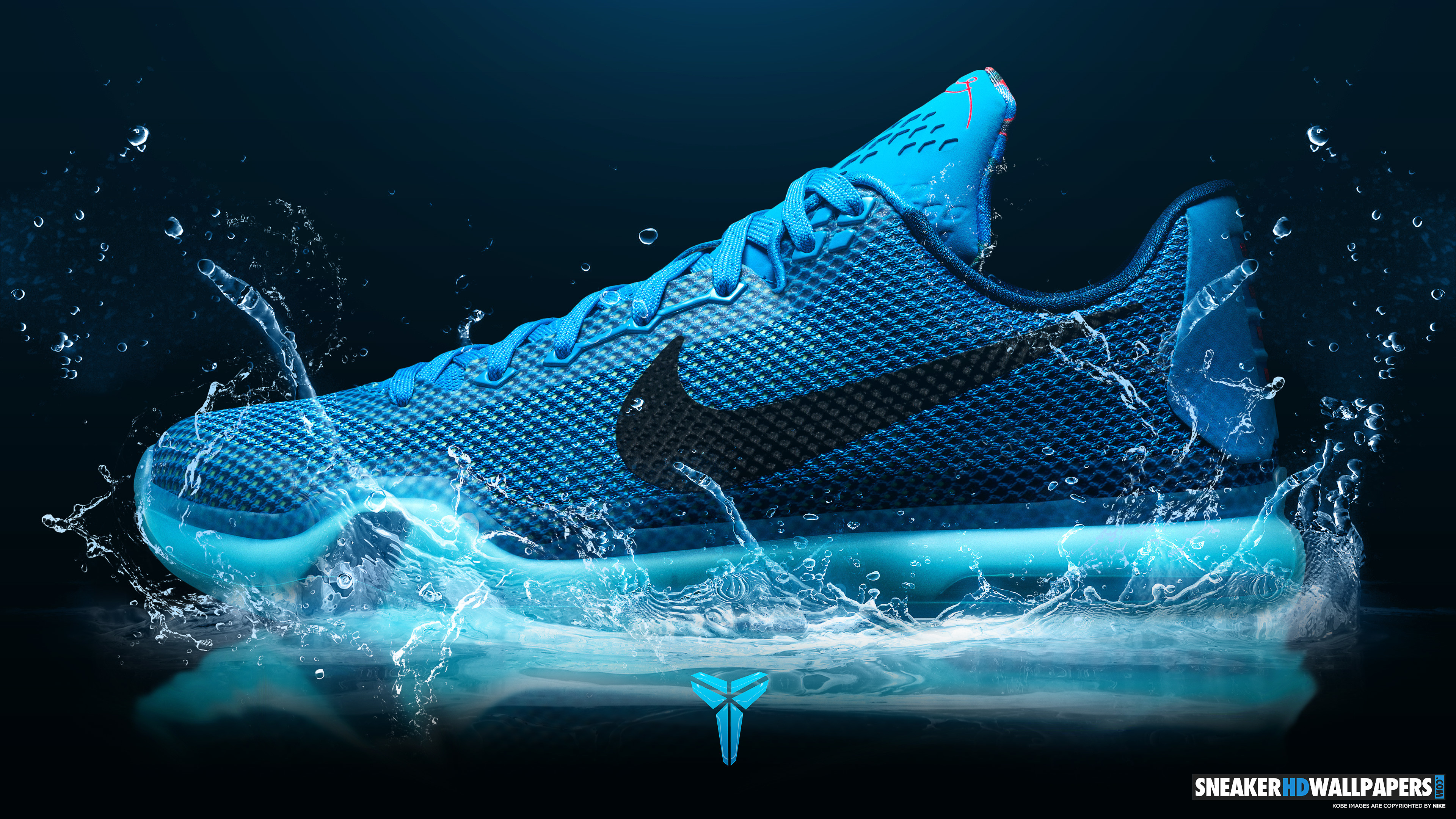Kobe Blue Lagoon Shoes