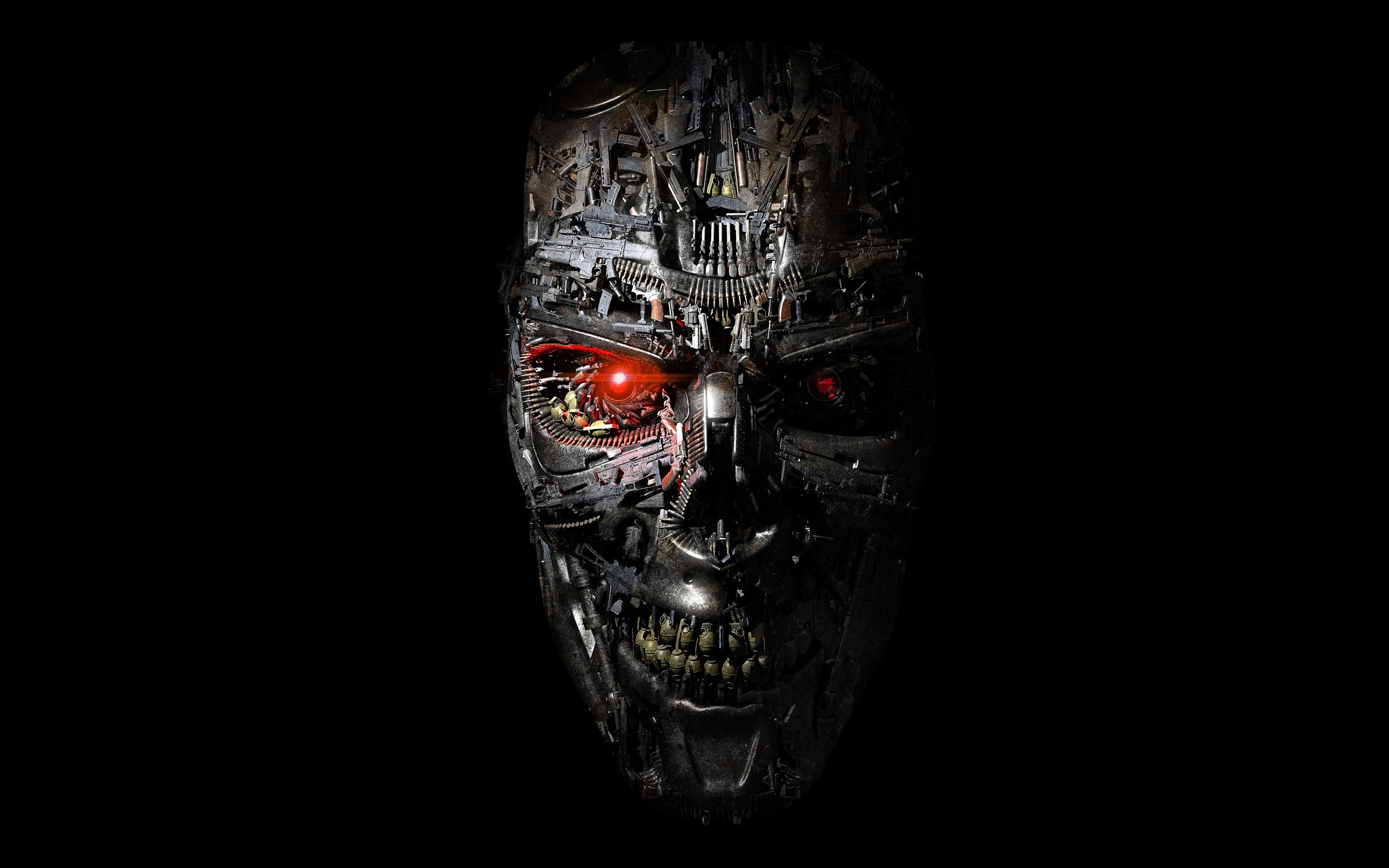 2880x1800 Terminator Genisys Robot Wallpapers