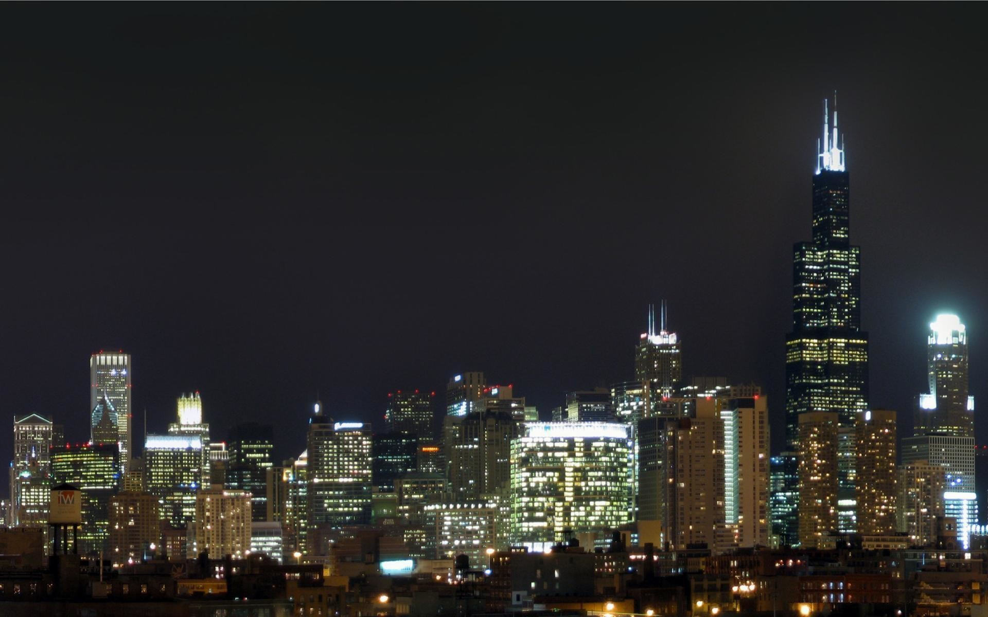 1920x1200 wallpaper.wiki-Chicago-Skyline-Photo-HD-PIC-WPE0011277