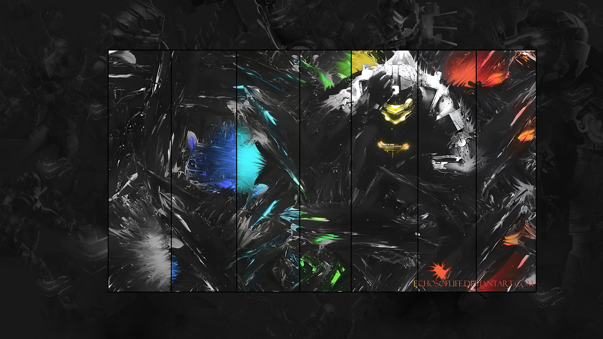 1920x1080 ... Dead Space Wallpaper Pack Smudge by echosoflife