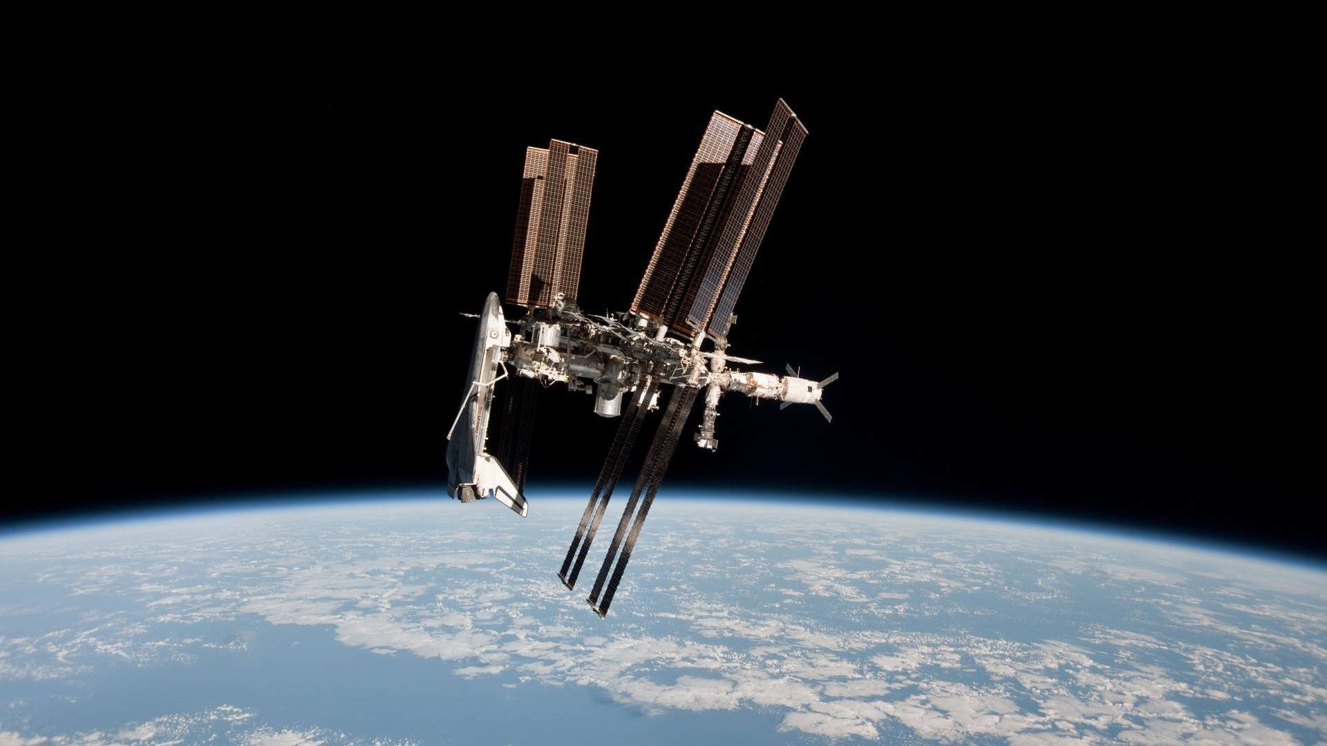 1920x1080 International Space Station HD Wallpaper