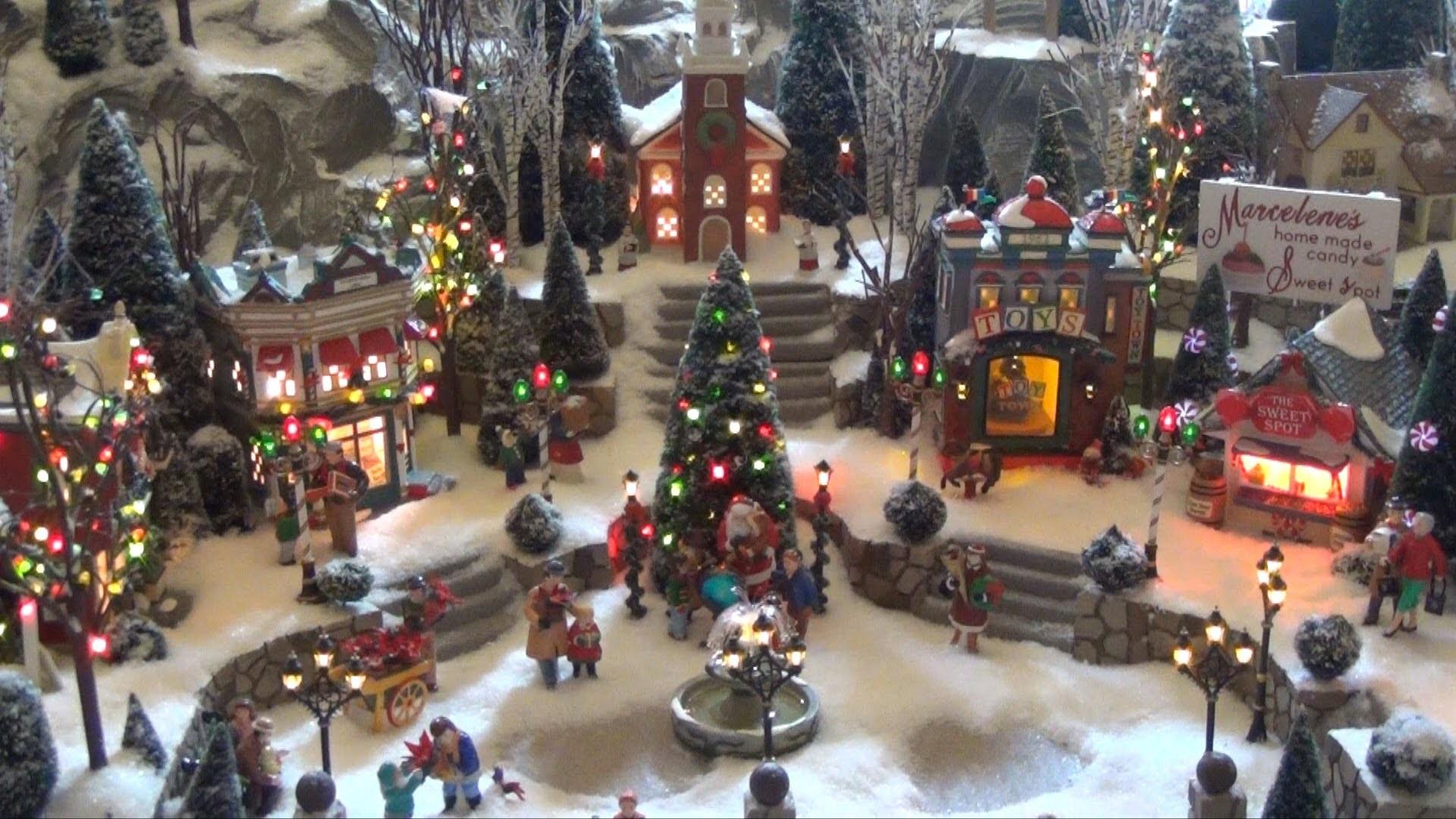 Christmas Village Backgrounds 52