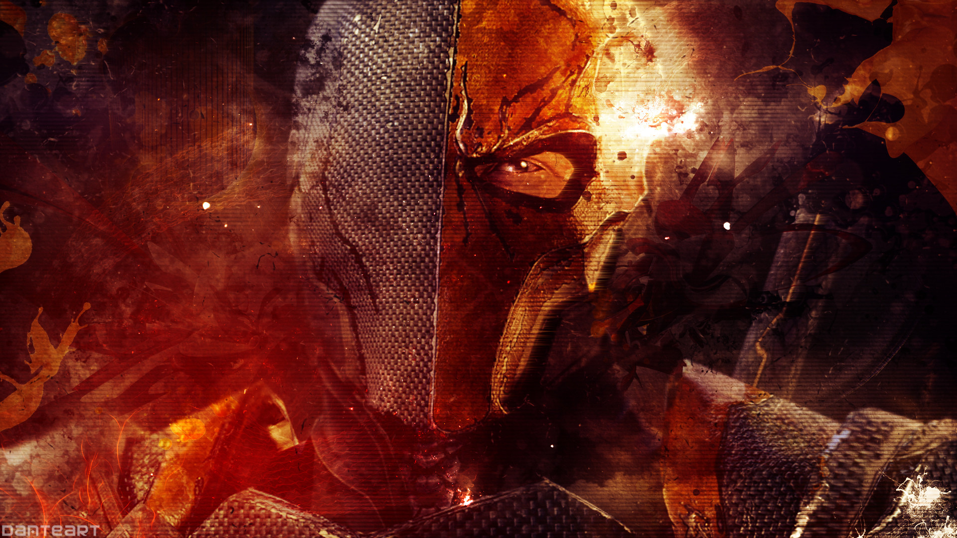 1920x1080 Deathstroke Arkham Origins Wallpapers For Android