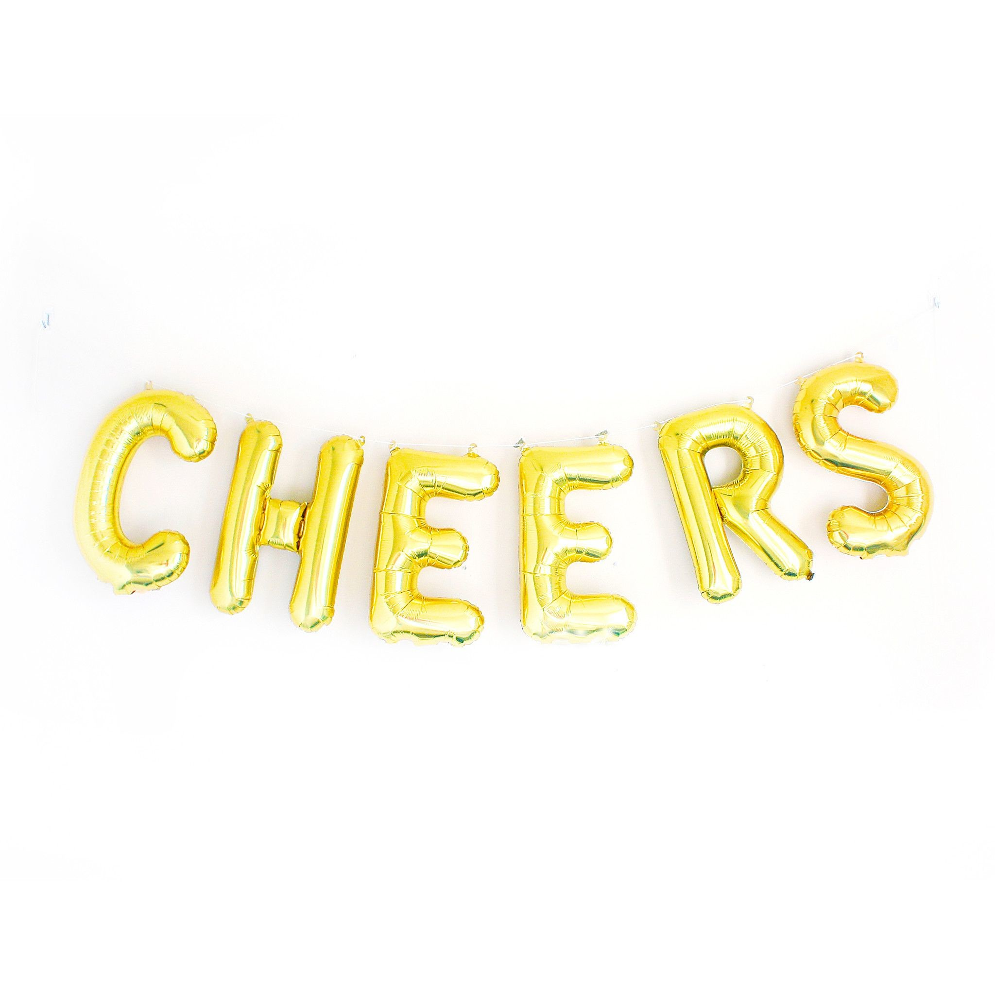 2048x2048 These balloons are so cute! They spell out the word cheers! It would be
