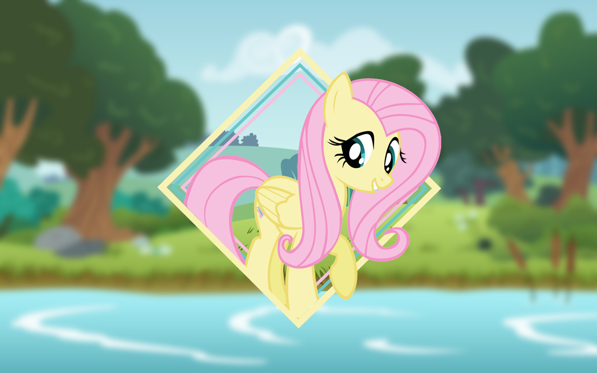 1920x1200 ... Fluttershy Wallpaper (Mane 6 Wallpaper Pack) by Damuchi99