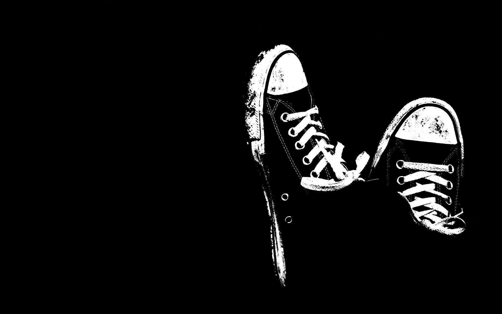 1920x1200 Art: Cool Converse Black White Black Backgrounds Wallpapers .