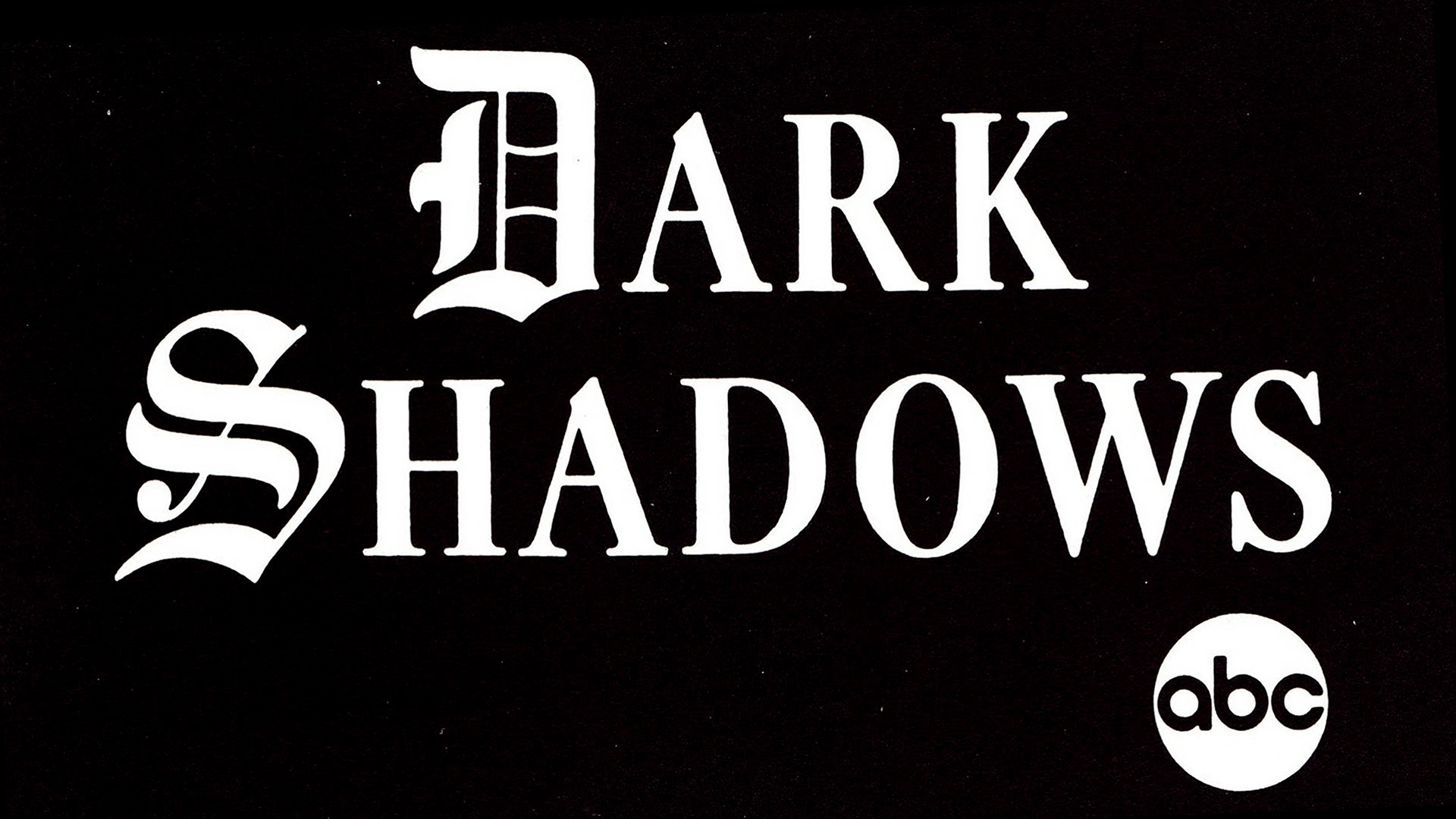 1920x1080 Dark Shadows Logo HD Wallpaper. « »