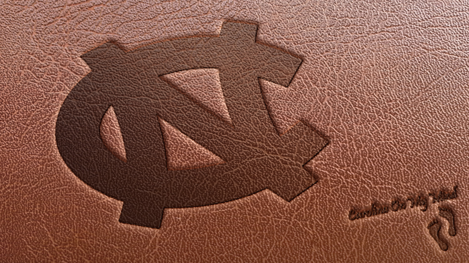 1920x1080 Leather Interlocking NC UNC Desktop Wallpaper 1920 x 1080